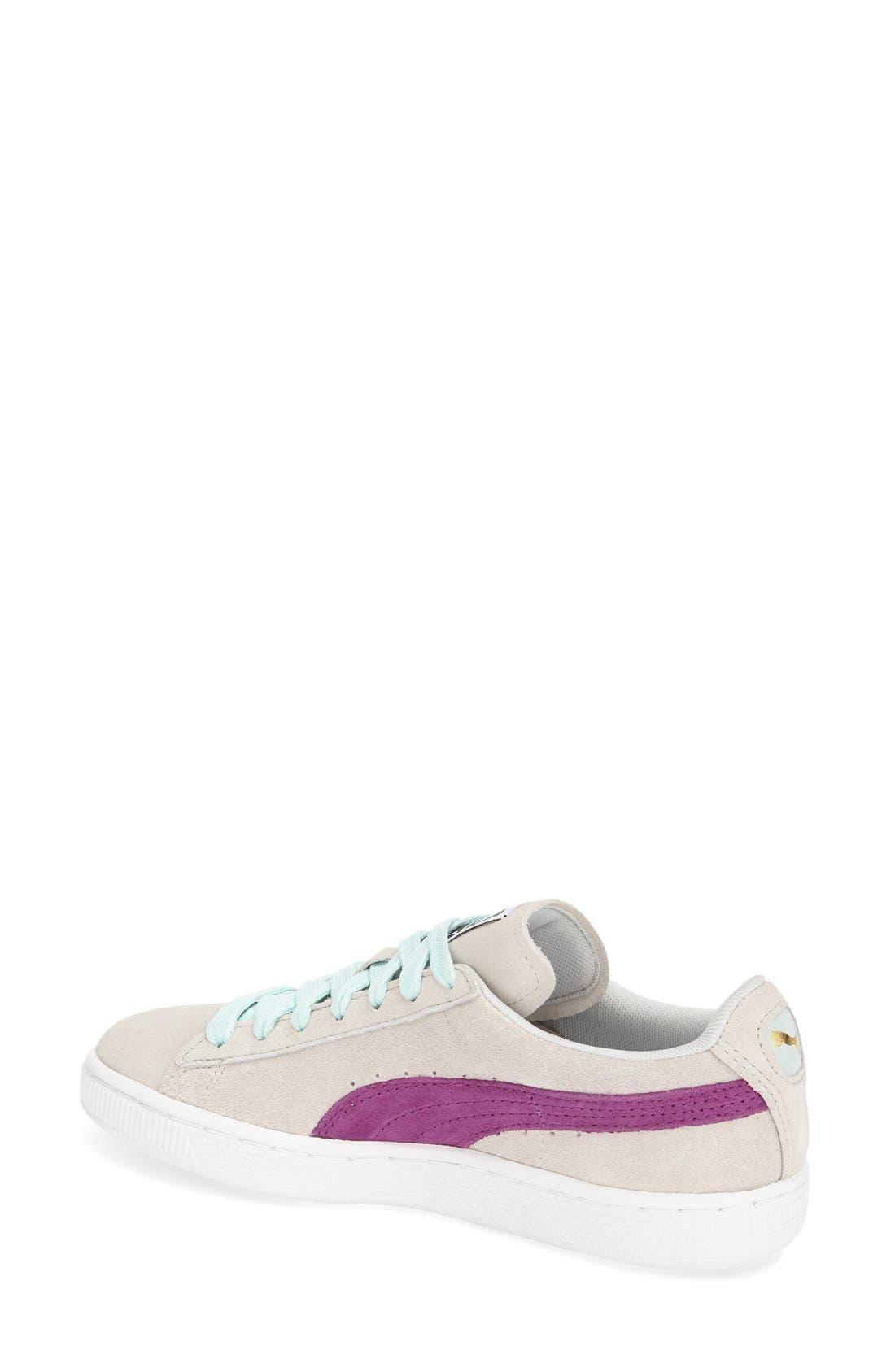 Suede Sneaker,                             Alternate thumbnail 36, color,