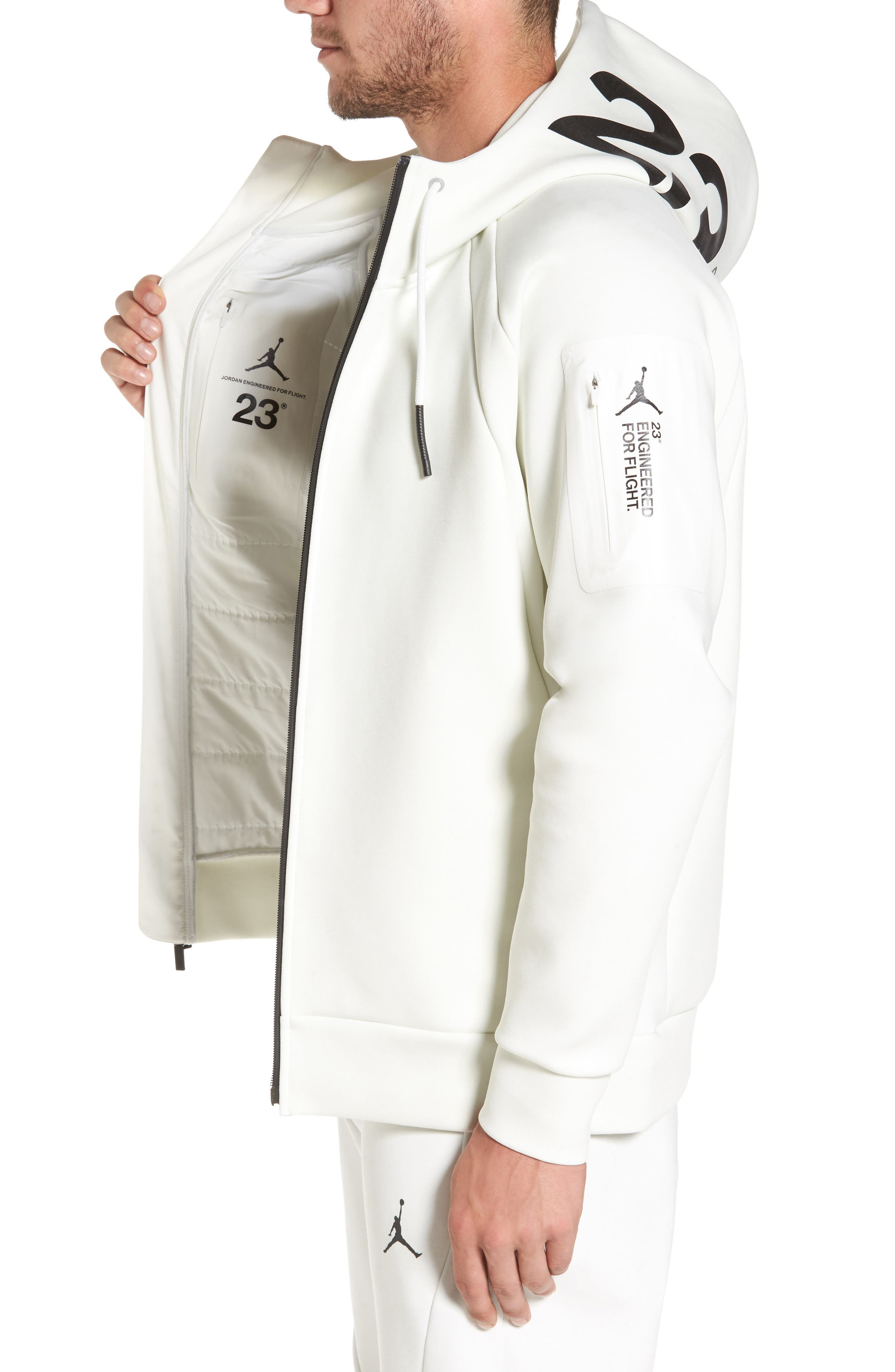 Sportswear Flight Tech Shield Jacket,                             Alternate thumbnail 6, color,