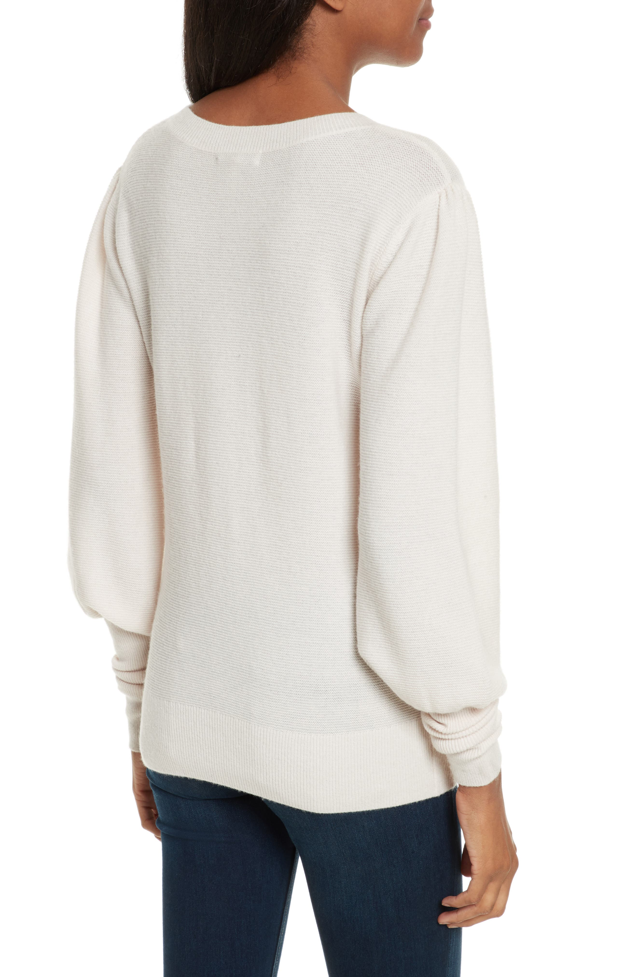 Noely Wool and Cashmere Sweater,                             Alternate thumbnail 4, color,