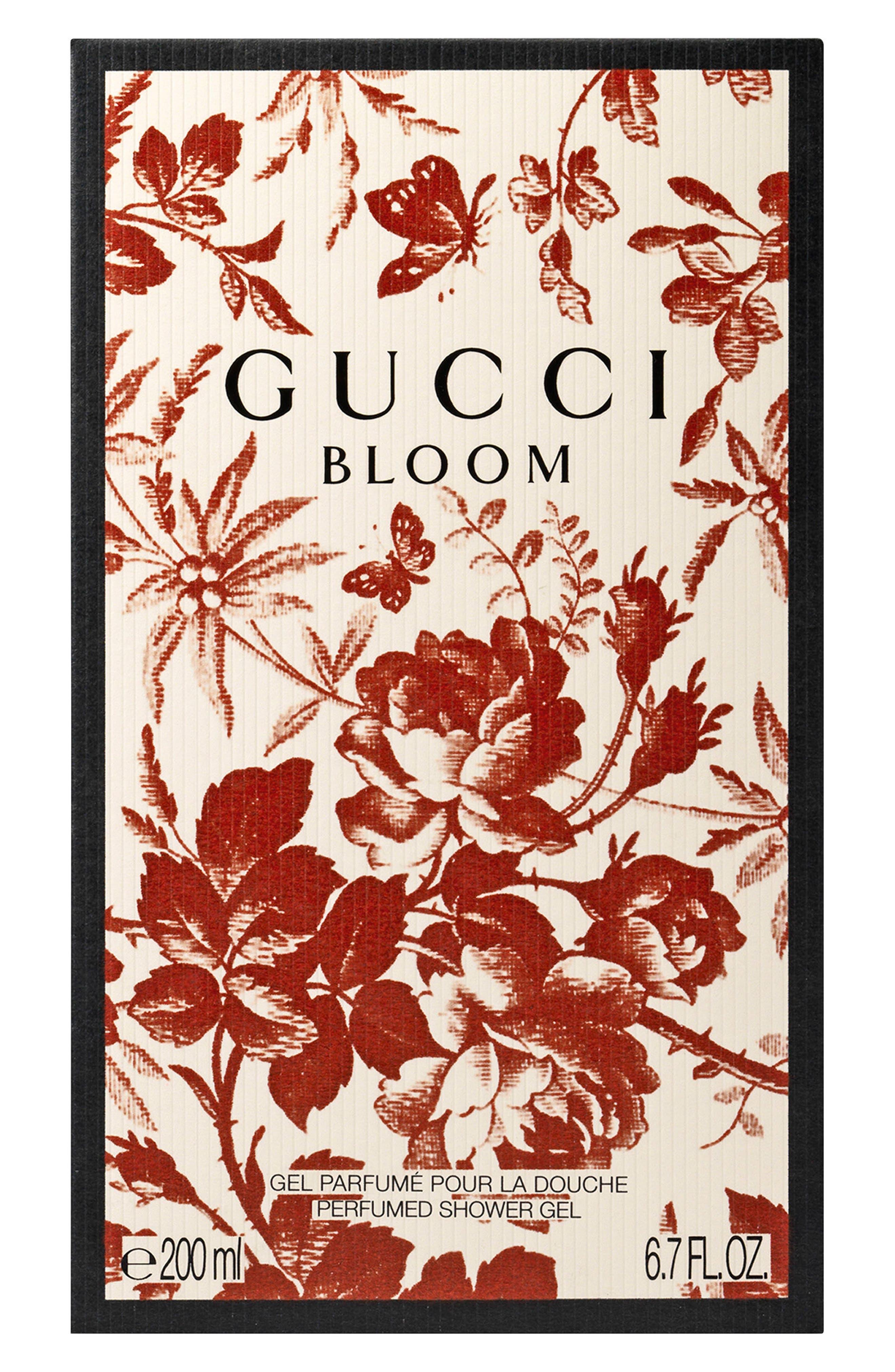 GUCCI,                             Bloom Shower Gel,                             Alternate thumbnail 2, color,                             NO COLOR