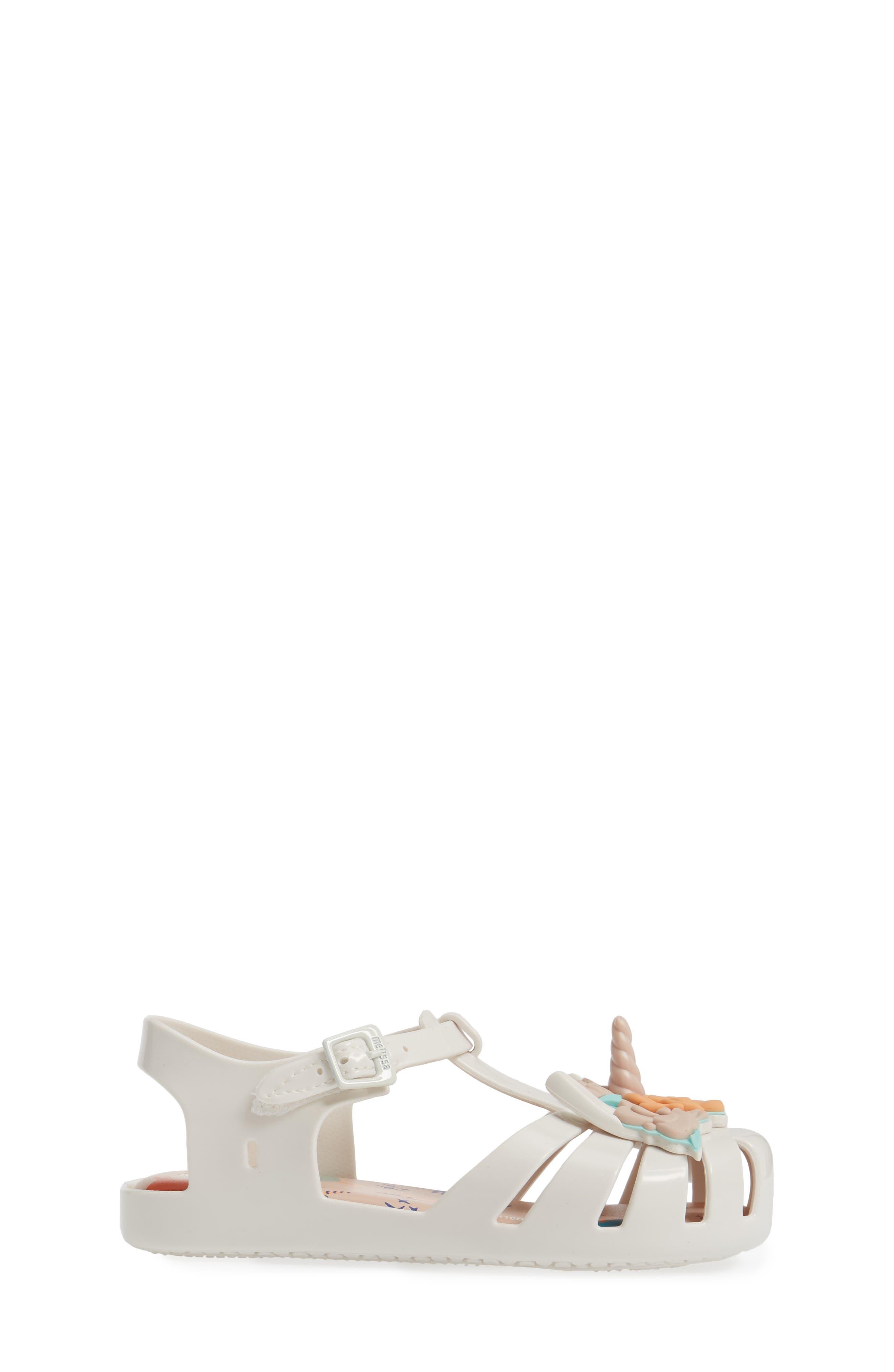 Aranha Fabula Unicorn Sandal,                             Alternate thumbnail 3, color,                             100