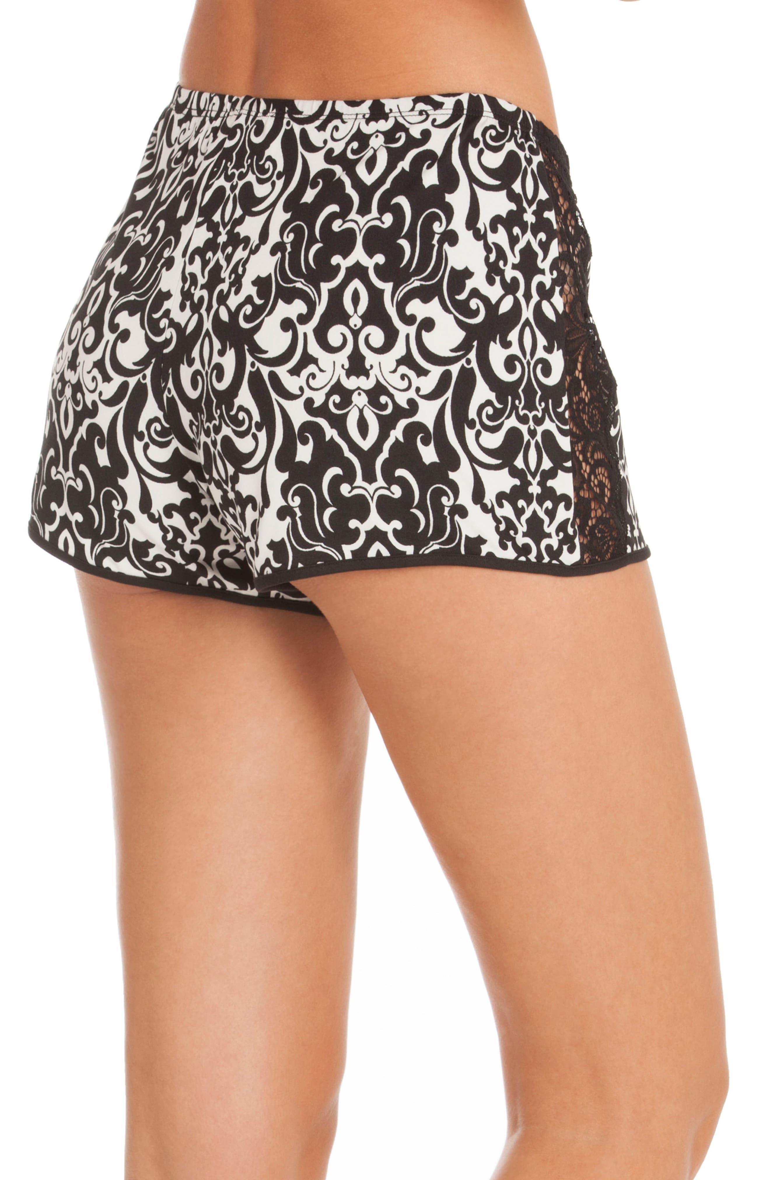 Konya Pajama Shorts,                             Alternate thumbnail 3, color,                             001