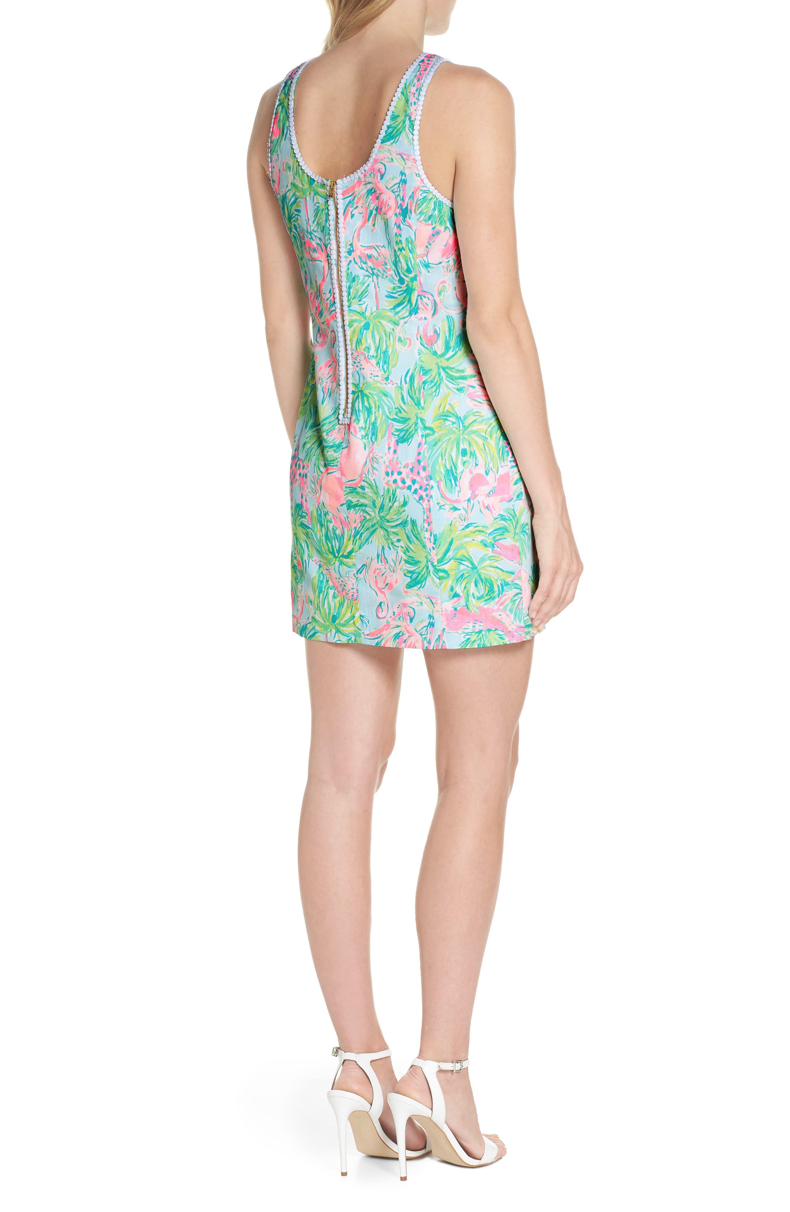 Mila Cotton Minidress,                             Alternate thumbnail 2, color,                             400
