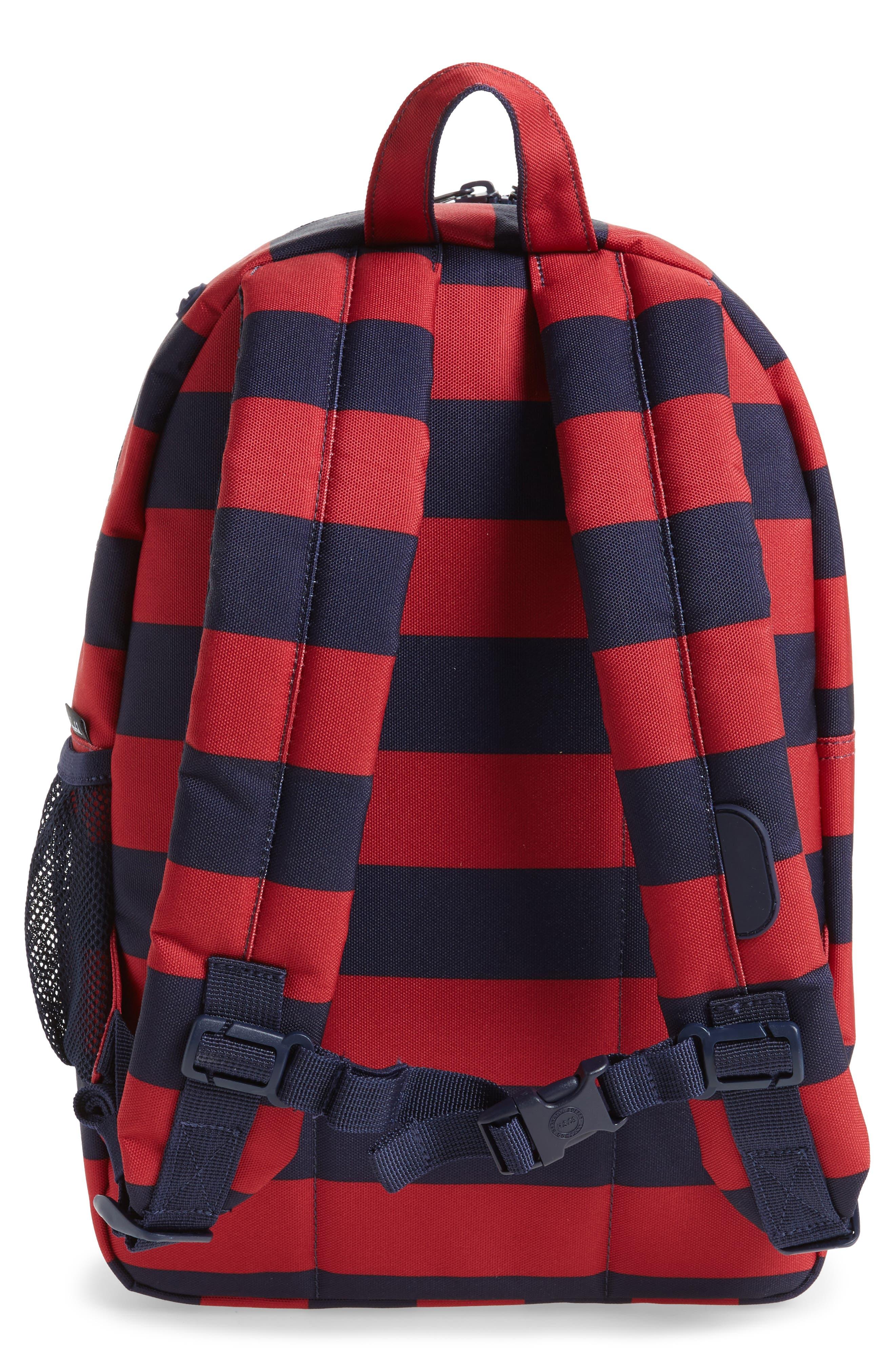 Heritage Stripe Backpack,                             Alternate thumbnail 2, color,                             400