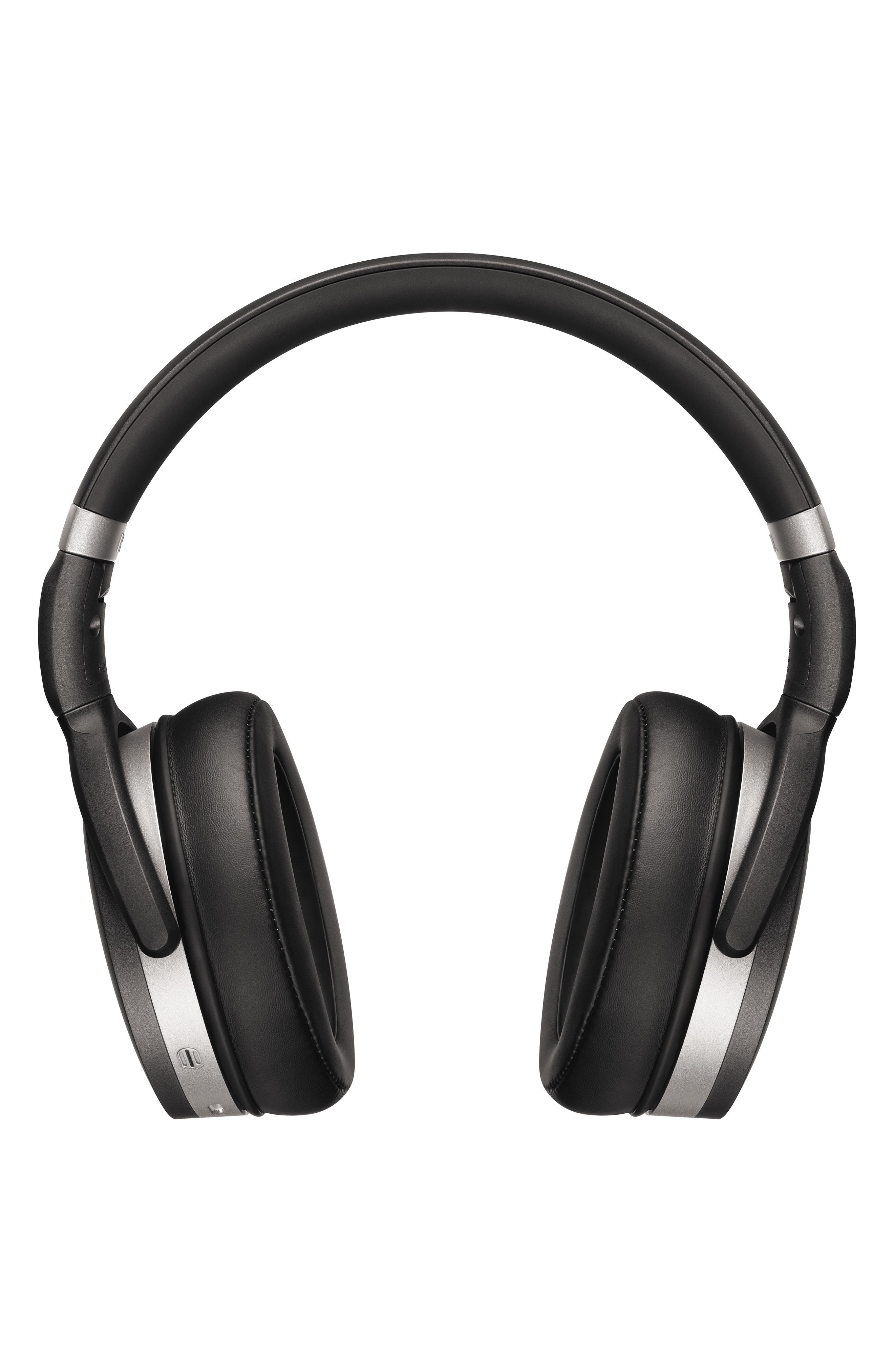 HD 4.50 Bluetooth<sup>®</sup> Noise Cancelling Headphones,                             Main thumbnail 1, color,                             BLACK/ SILVER