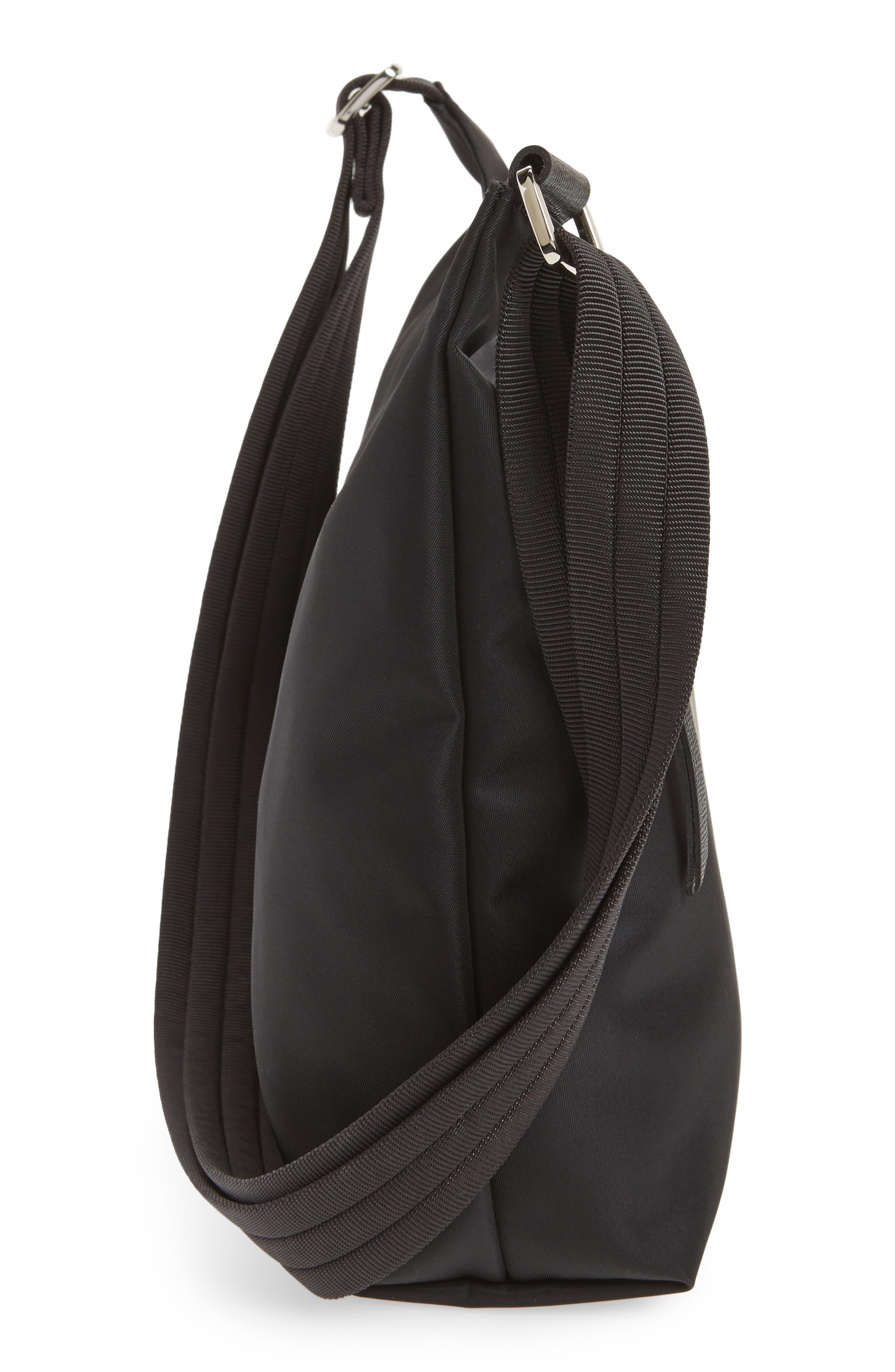'Le Pliage Neo' Nylon Crossbody Bag,                             Alternate thumbnail 6, color,                             BLACK