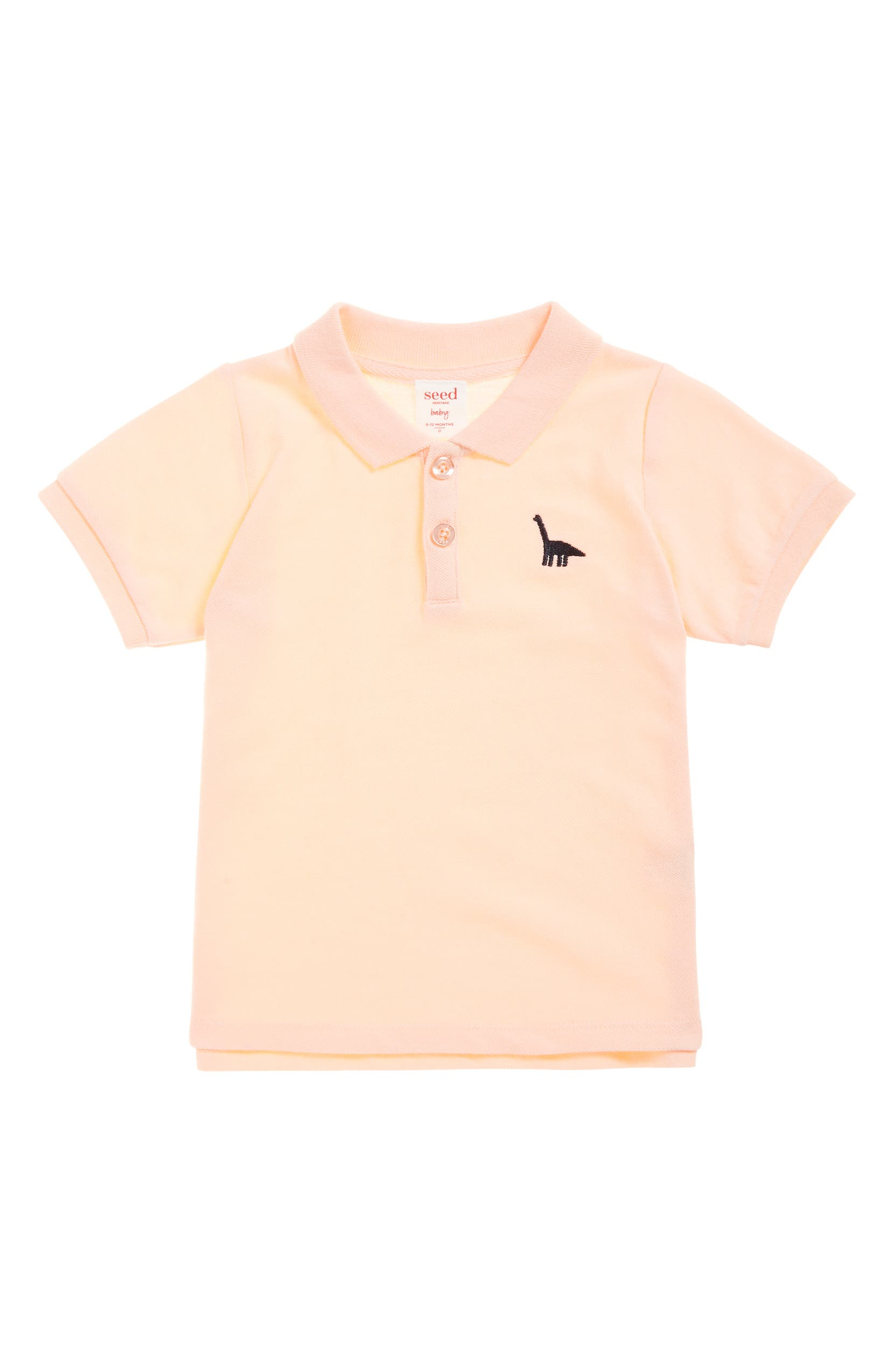 Seed Heritage Cotton Piqu Polo Shirt Baby Nordstrom