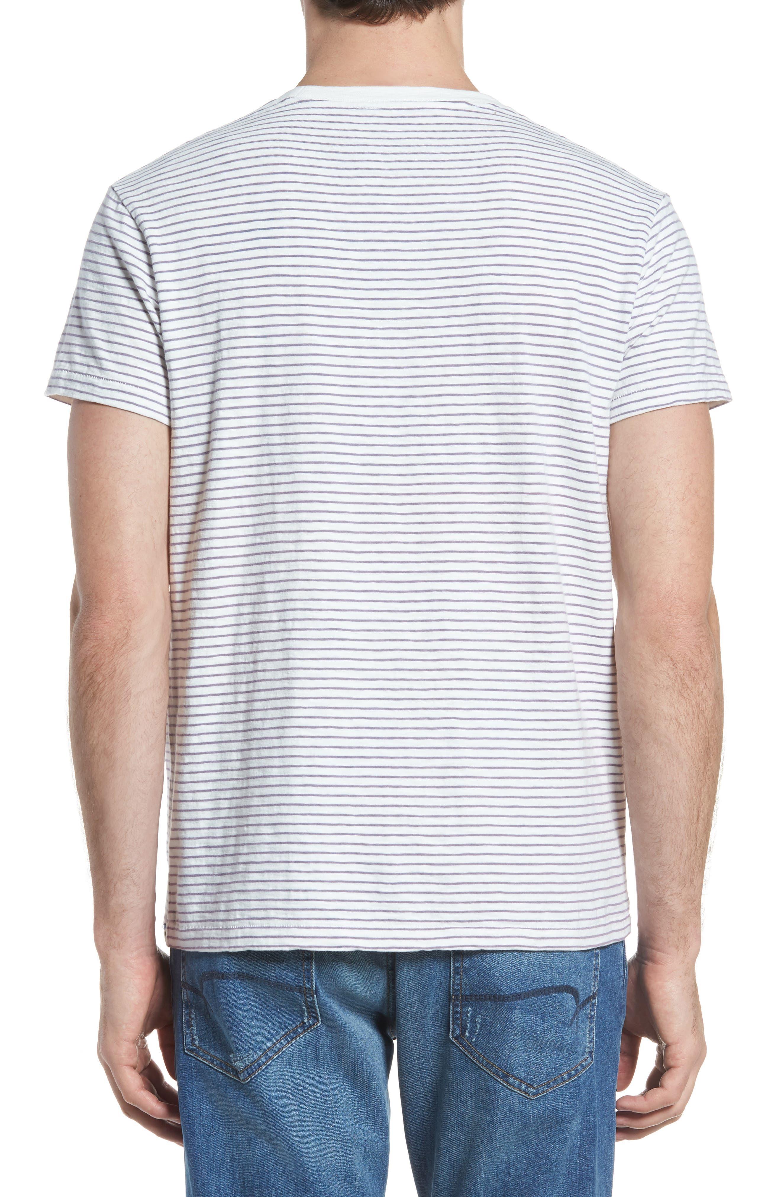 Malaga Cove Stripe T-Shirt,                             Alternate thumbnail 2, color,                             114