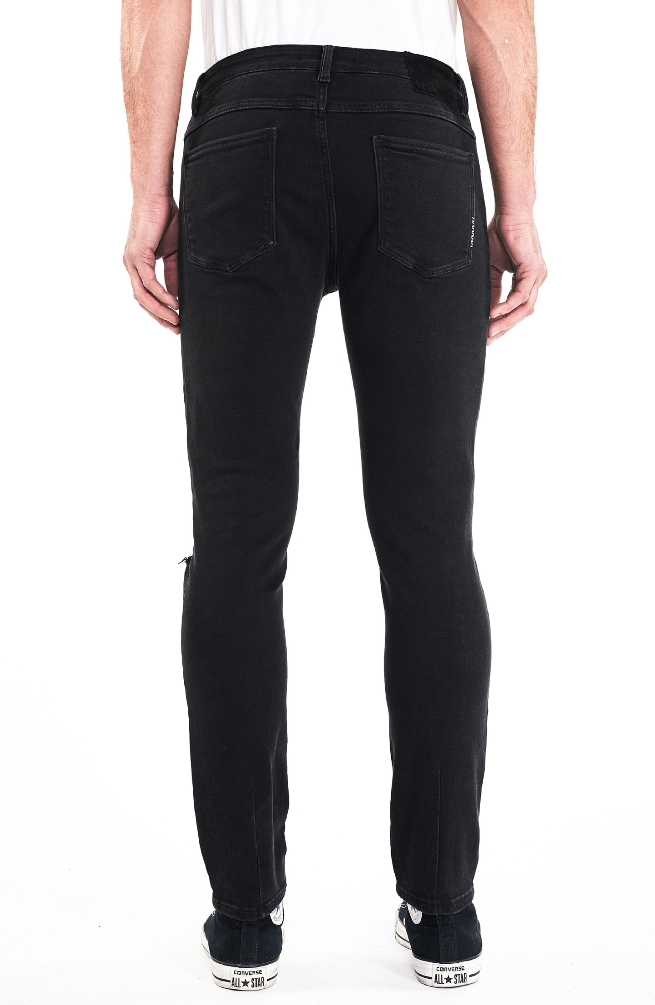 NEUW,                             Ray Slouchy Slim Fit Jeans,                             Alternate thumbnail 2, color,                             001