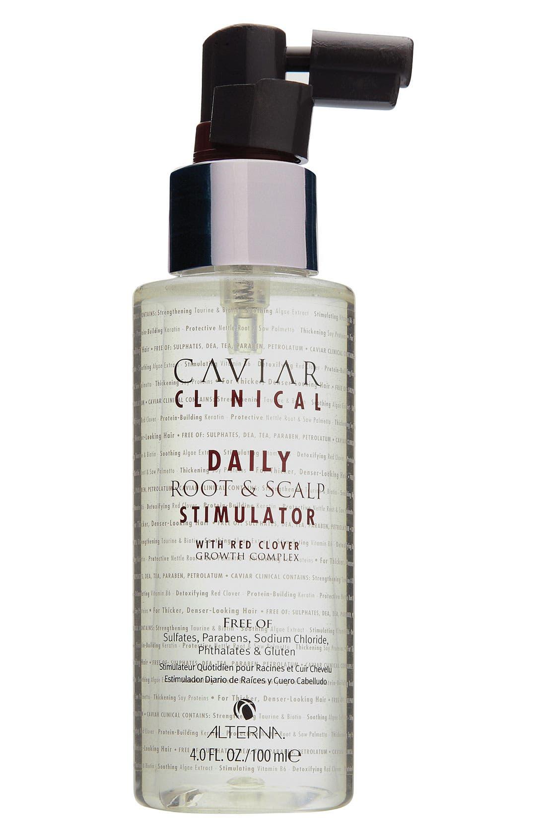 Caviar Clinical Daily Root & Scalp Stimulator,                             Main thumbnail 1, color,                             000
