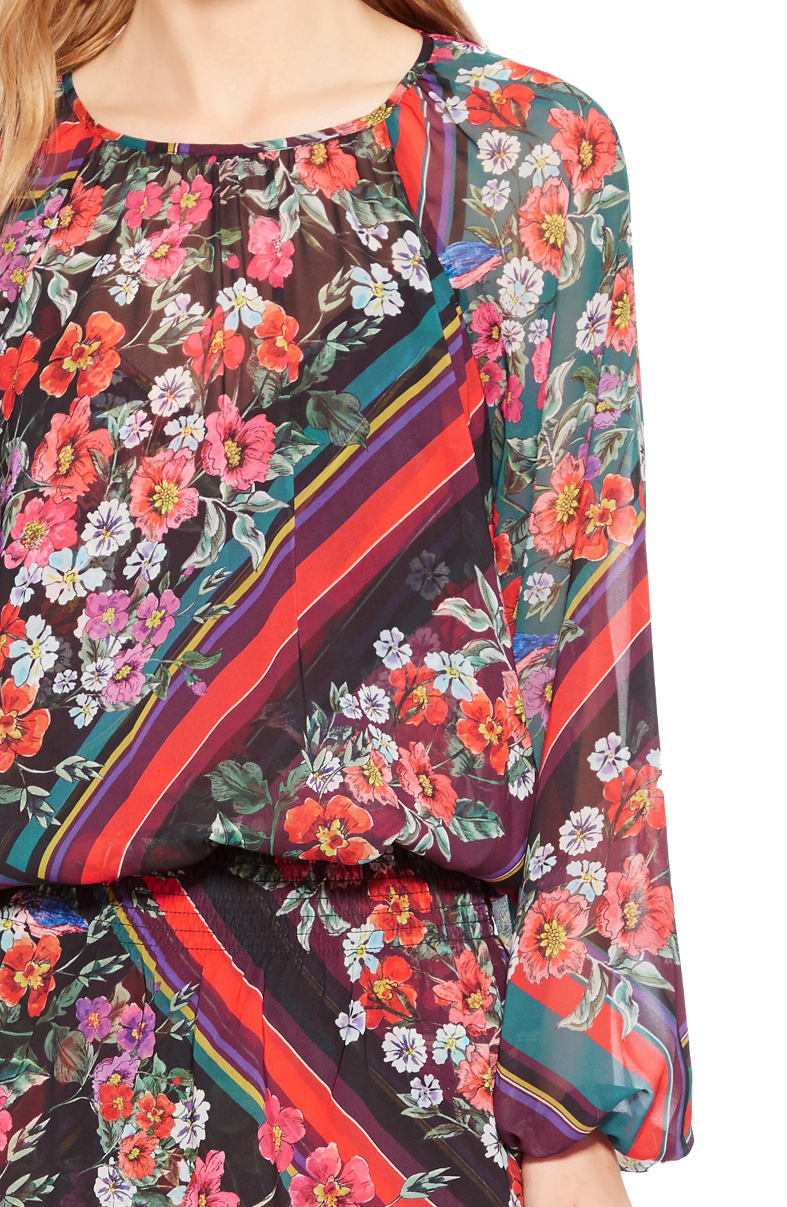 Christina Dress,                             Alternate thumbnail 4, color,                             MADISON STRIPE