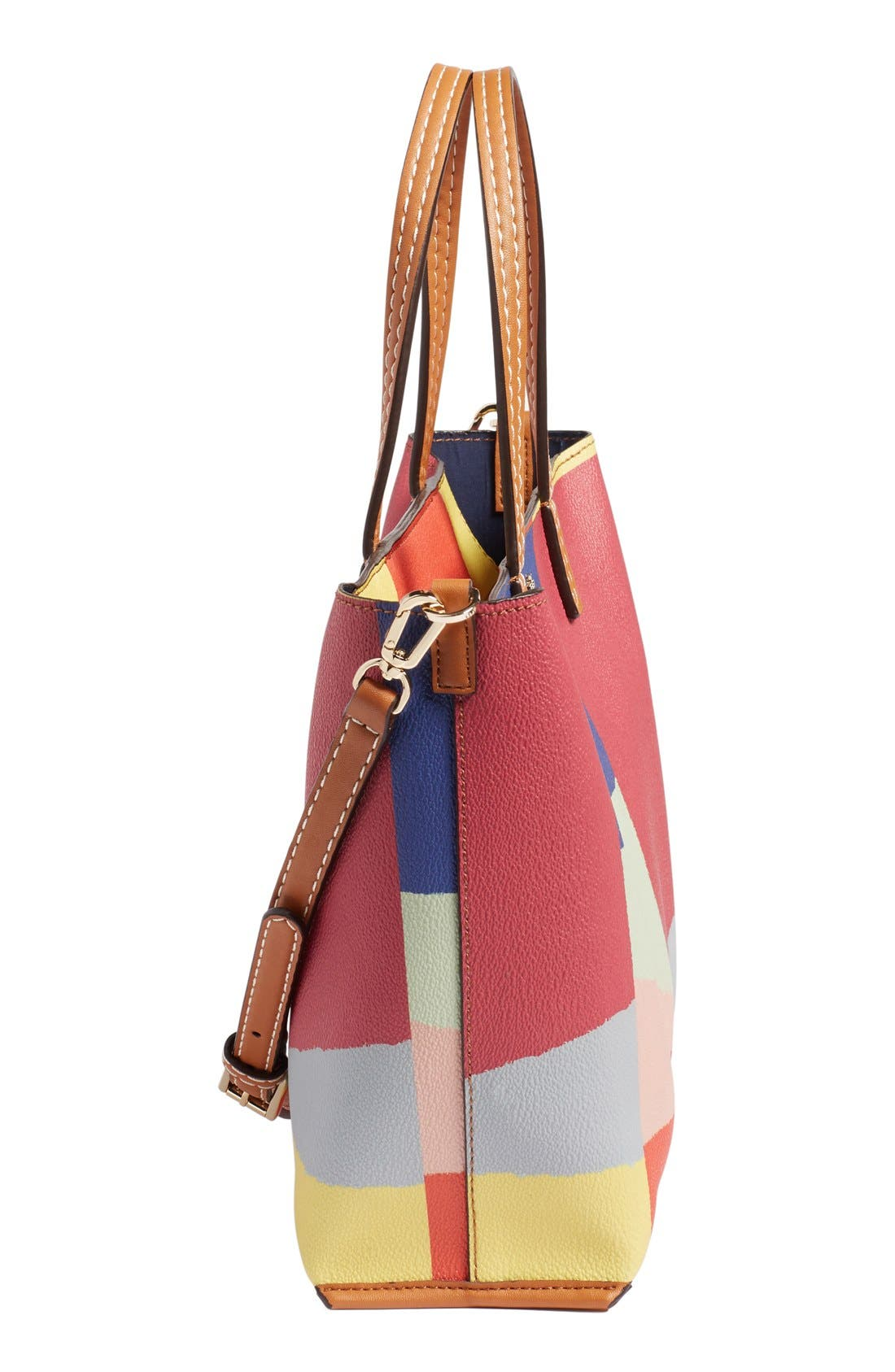 'Small Kerrington Square' Tote,                             Alternate thumbnail 4, color,                             600