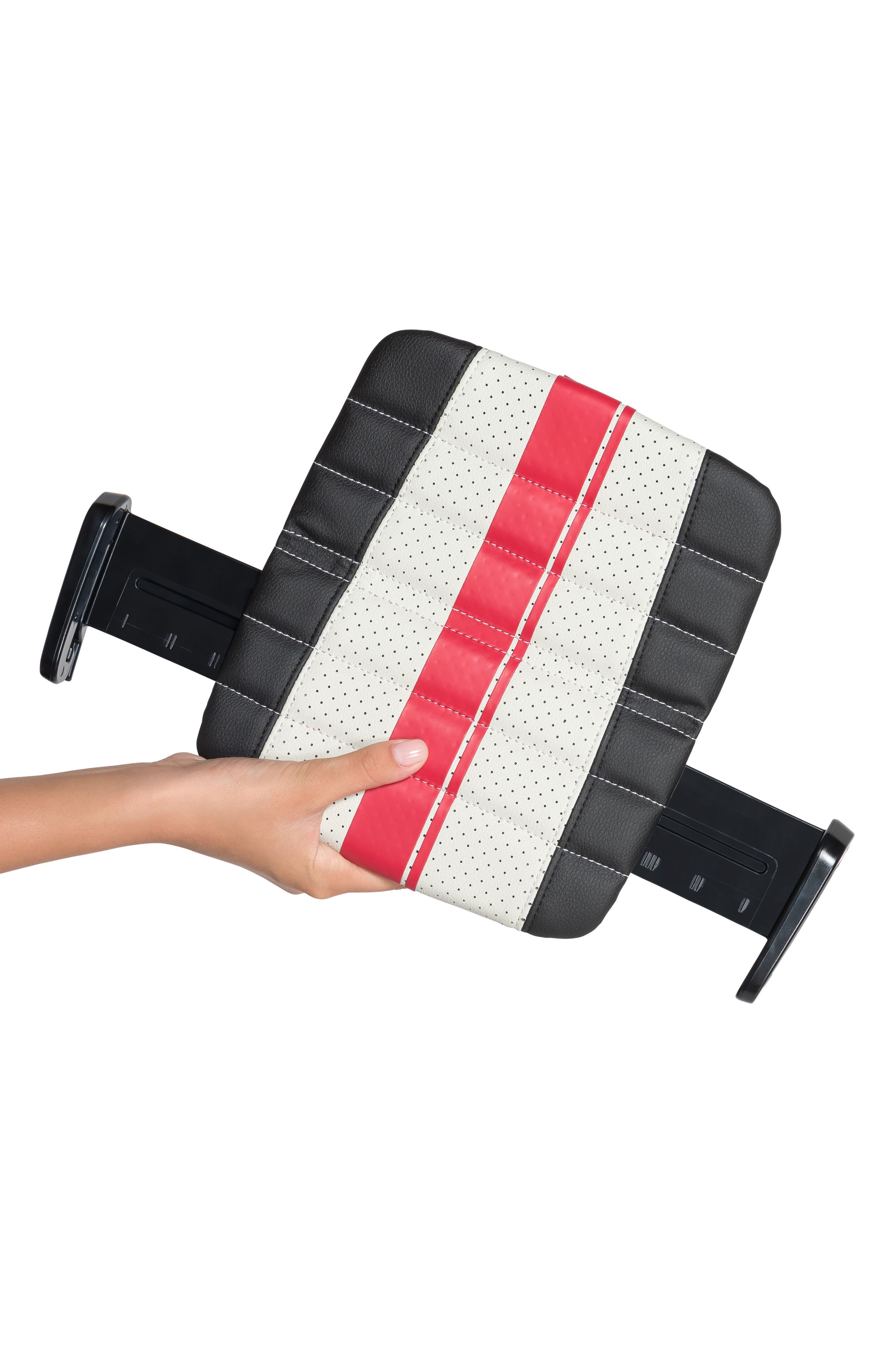 Sport Grab-and-Go Booster Seat,                             Alternate thumbnail 5, color,                             BLACK/ GREY/ RED