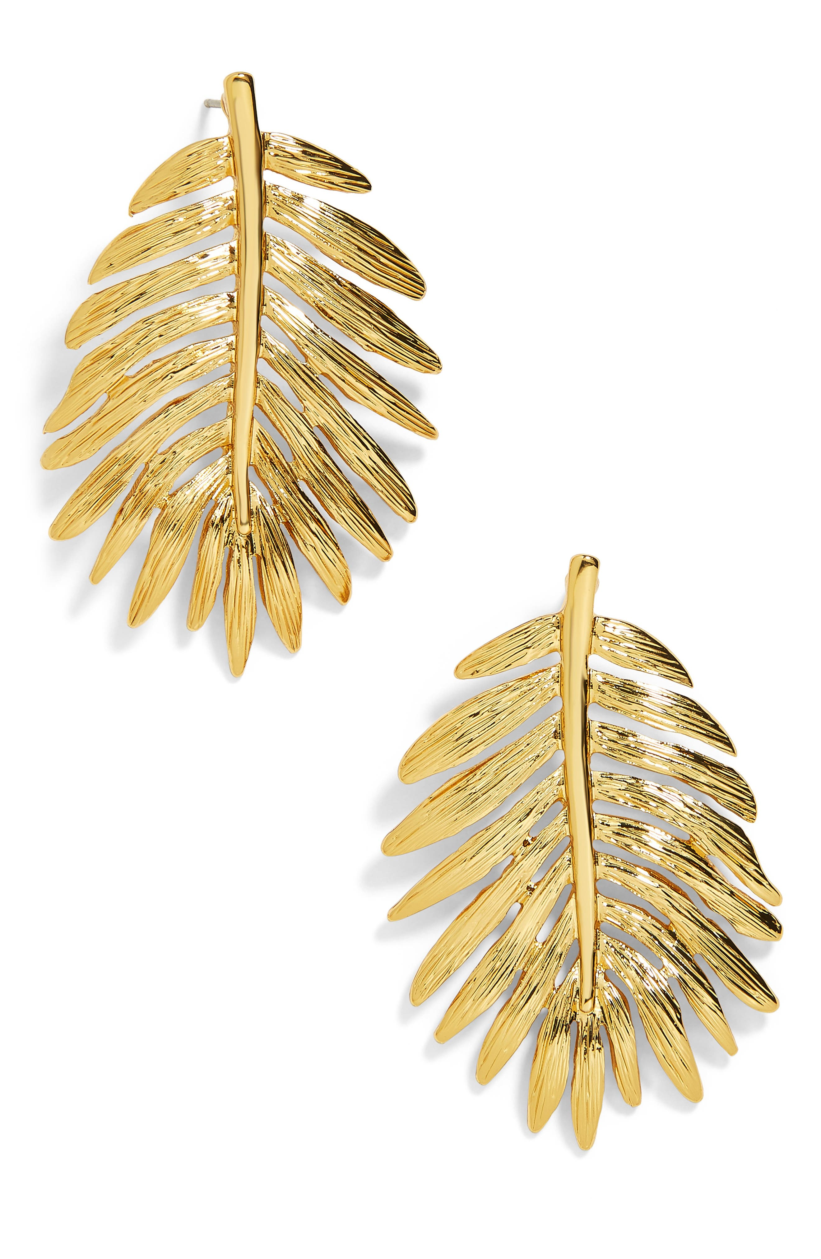 Esper Palm Leaf Drop Earrings,                             Main thumbnail 1, color,                             710