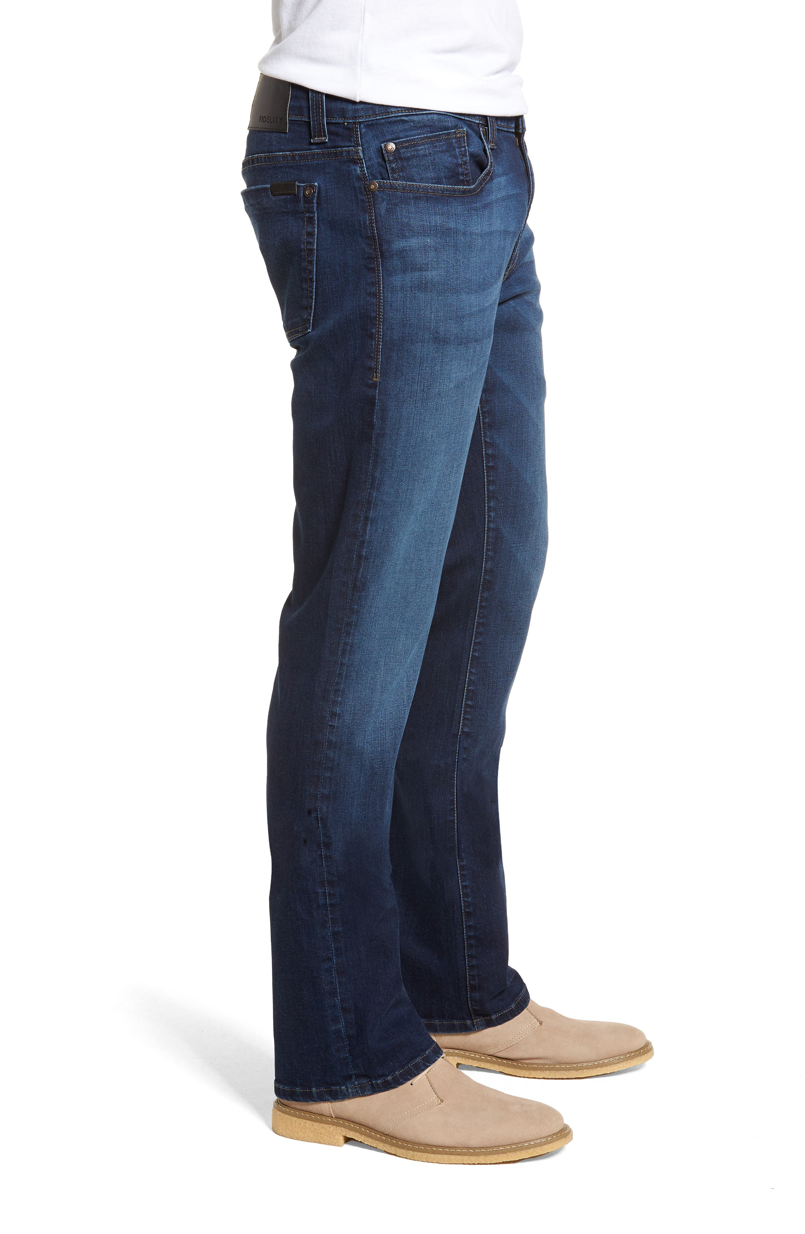 50-11 Relaxed Fit Jeans,                             Alternate thumbnail 3, color,                             CORNELL BLUE