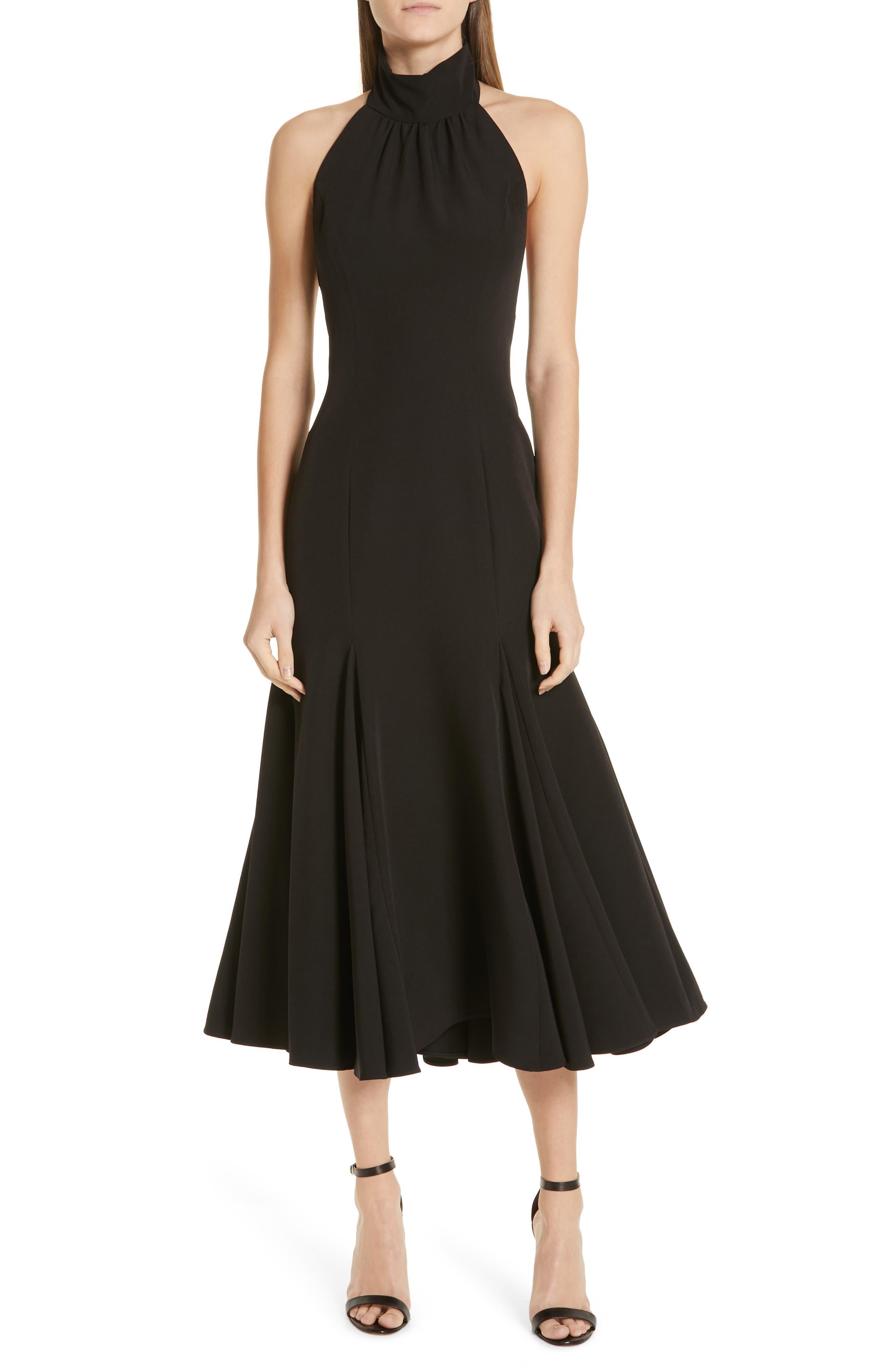 Milly Penelope Dress, Black