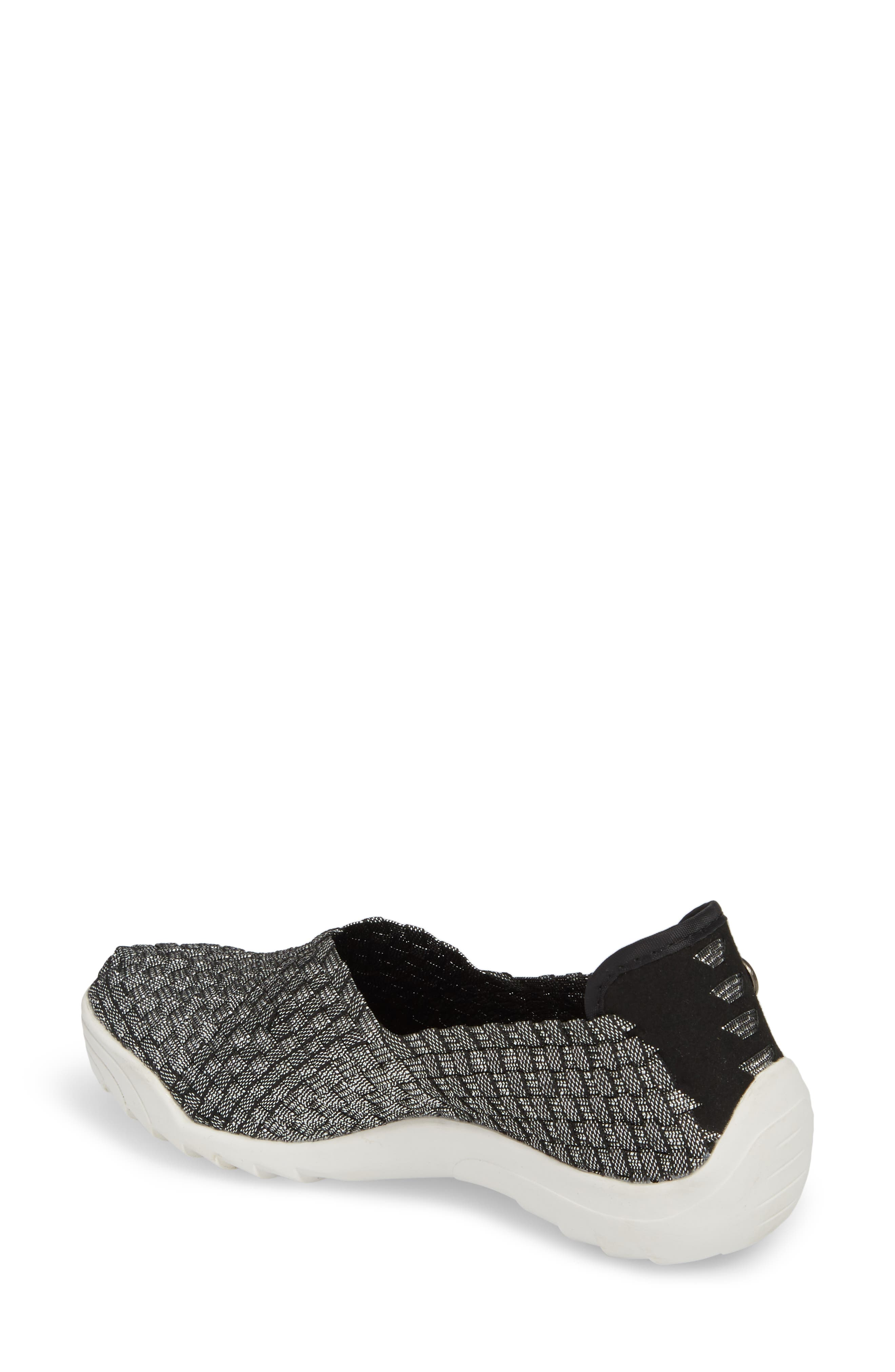 Rigged Fly Slip-On Sneaker,                             Alternate thumbnail 2, color,                             BLACK SHIMMER