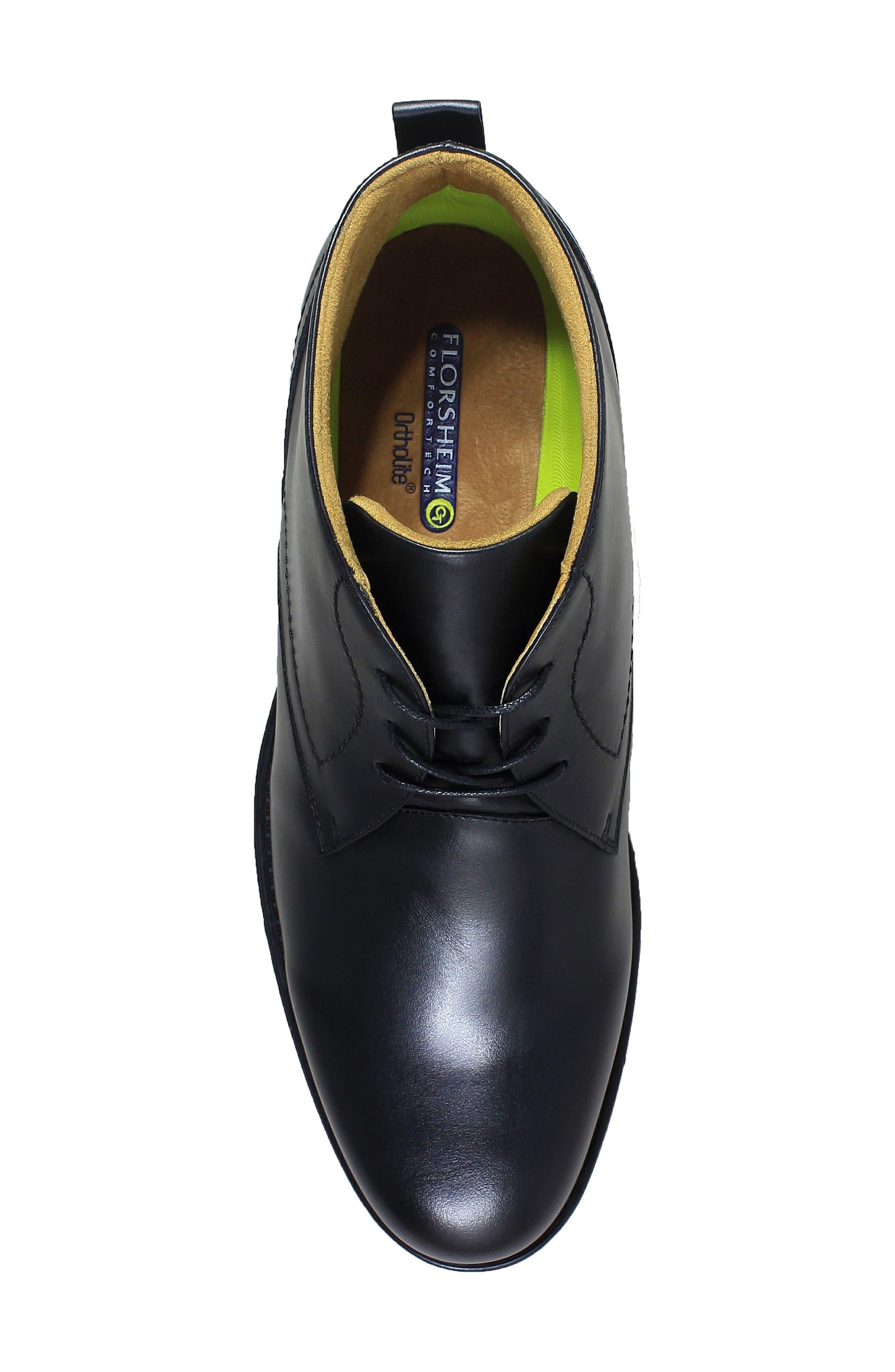 Midtown Waterproof Chukka Boot,                             Alternate thumbnail 5, color,                             BLACK