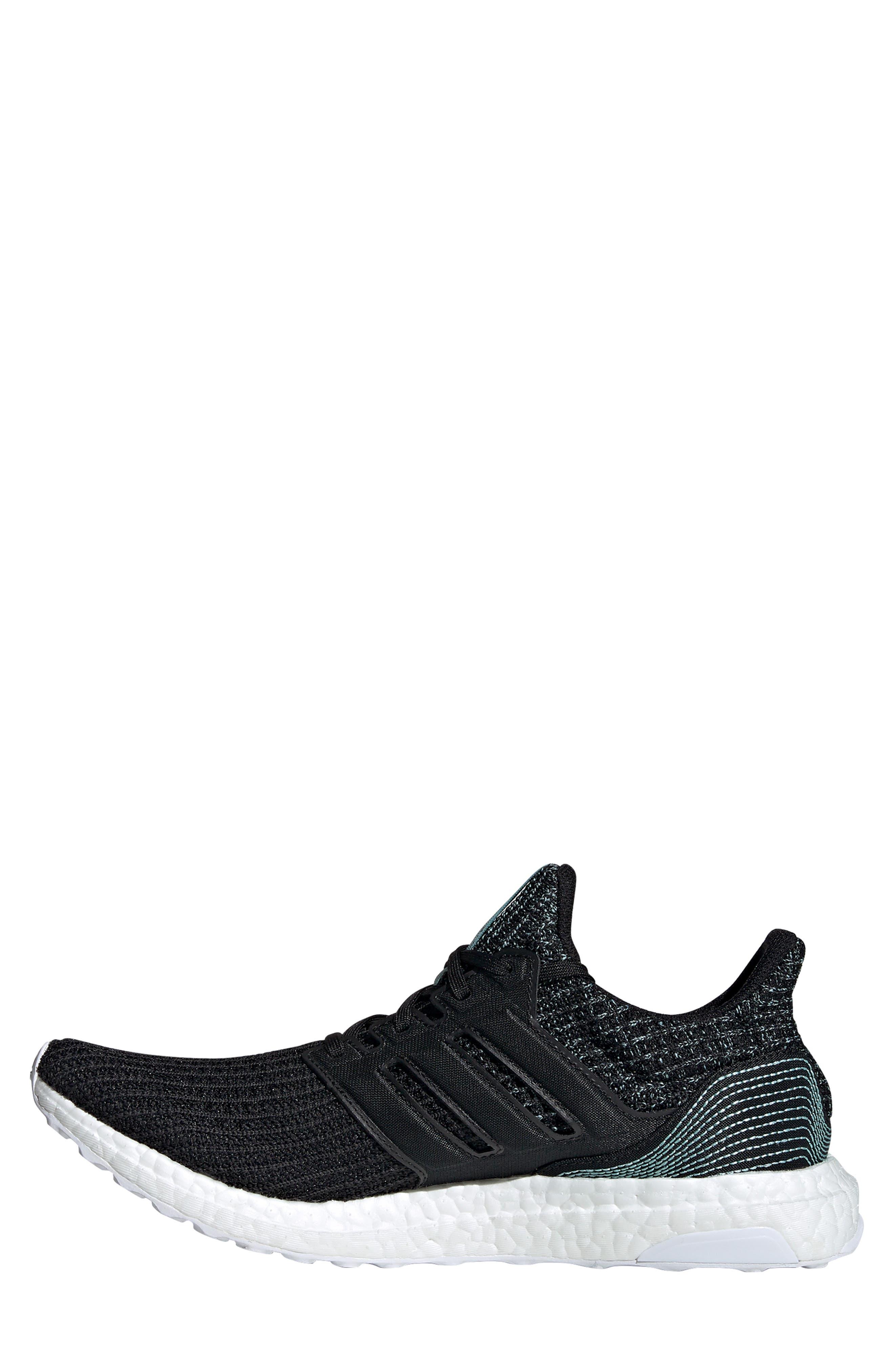 Parley UltraBoost Sneaker,                             Alternate thumbnail 10, color,                             001