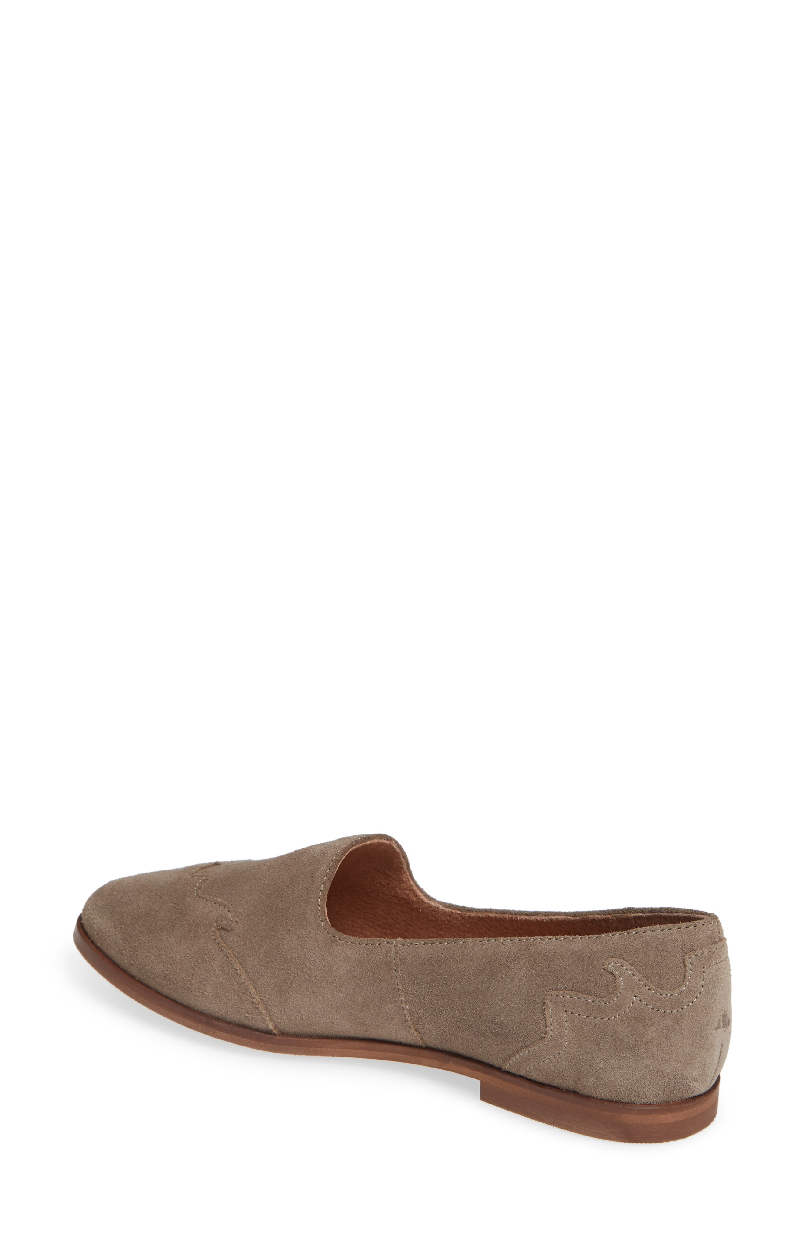 Revolution Loafer,                             Alternate thumbnail 2, color,                             TAUPE SUEDE