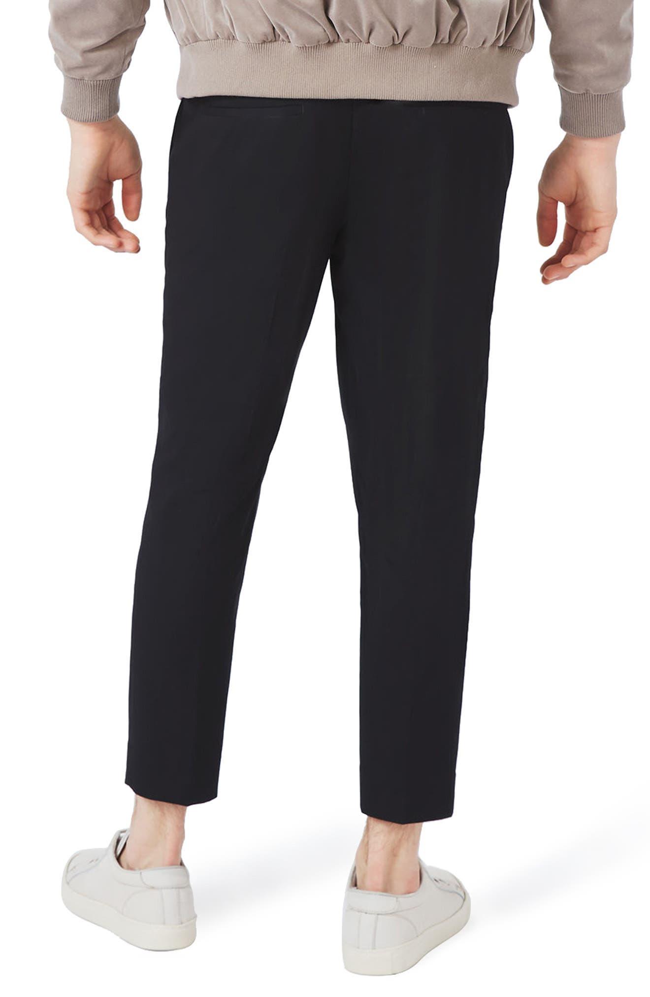 Cropped Smart Jogger Pants,                             Alternate thumbnail 2, color,                             001