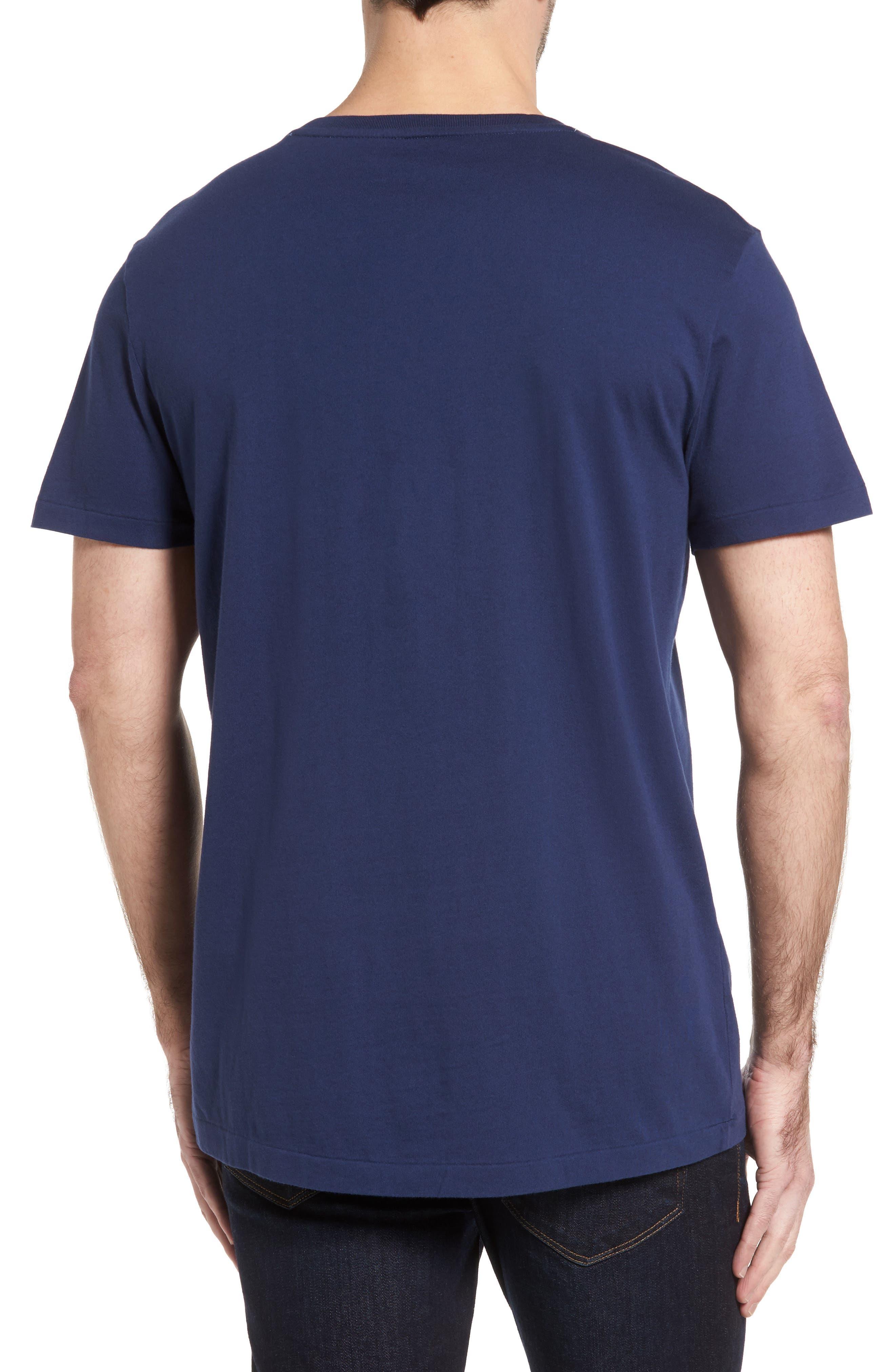 V-Neck T-Shirt,                             Alternate thumbnail 4, color,