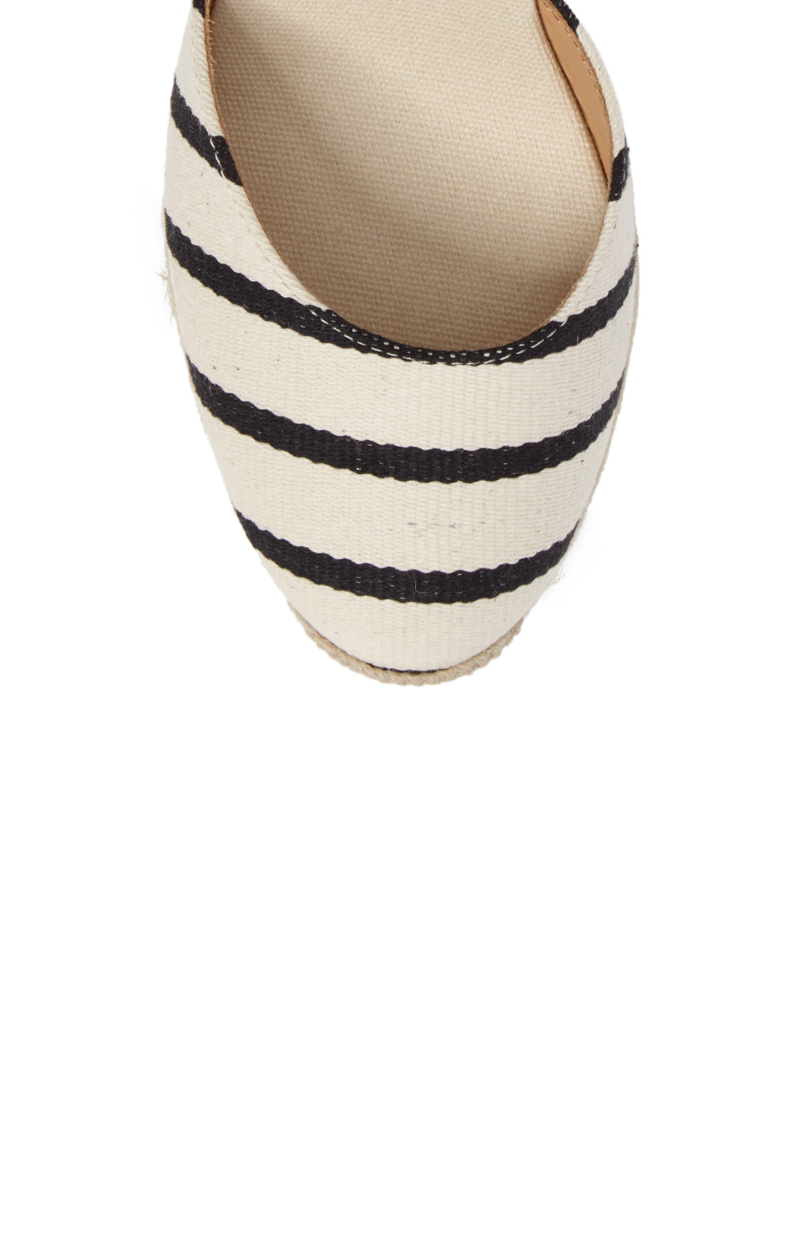 Wedge Sandal,                             Alternate thumbnail 5, color,                             004