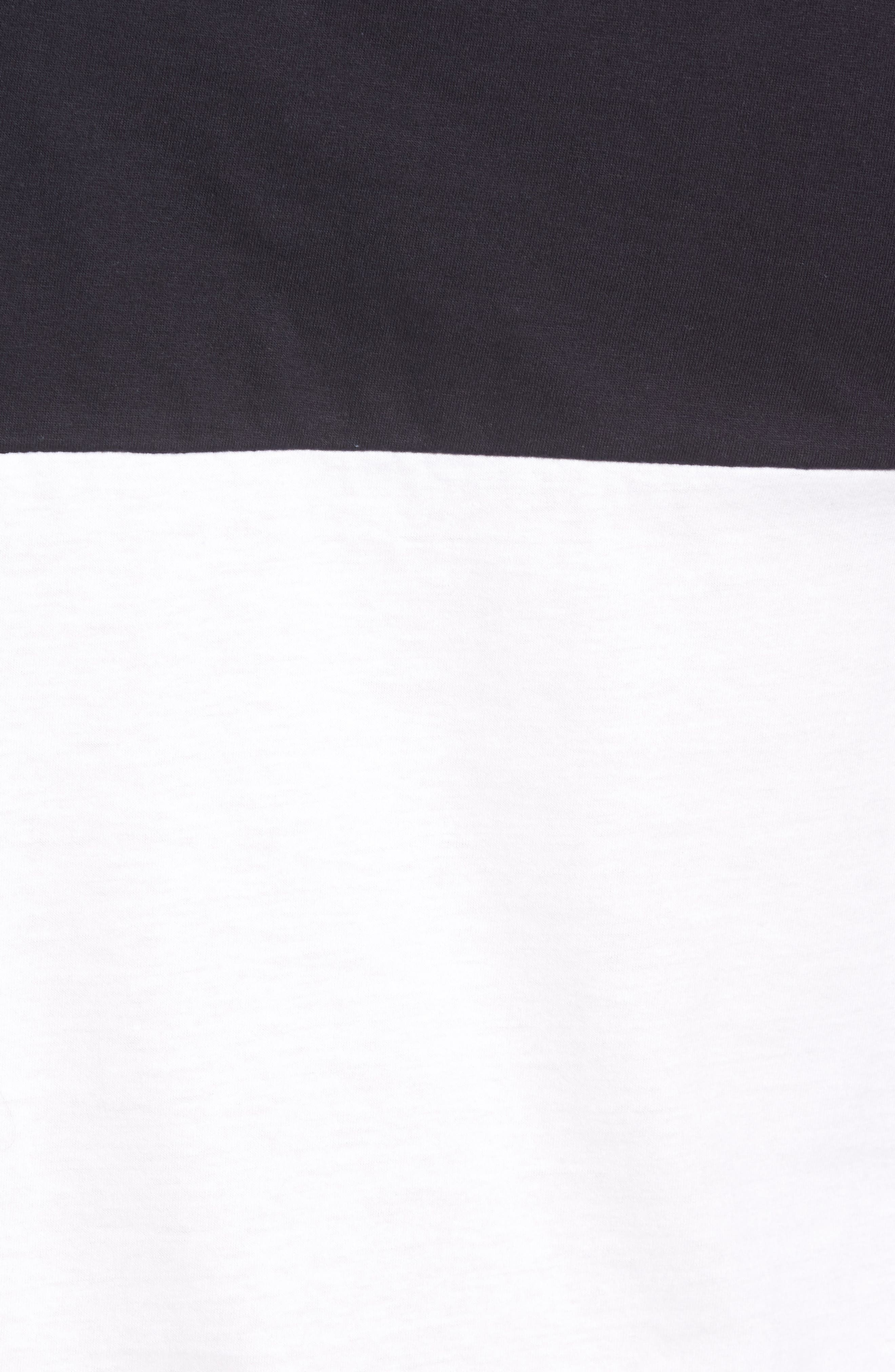 Block Crewneck T-Shirt,                             Alternate thumbnail 9, color,