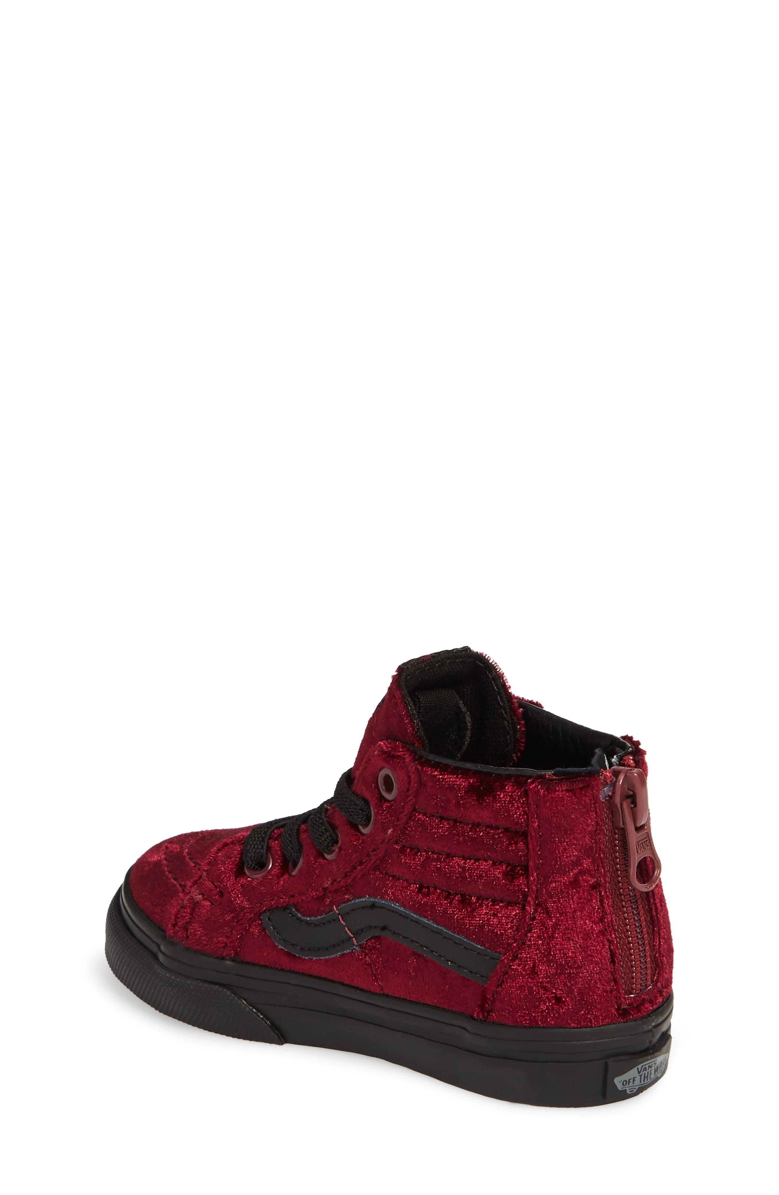 SK8-Hi Zip Sneaker,                             Alternate thumbnail 5, color,