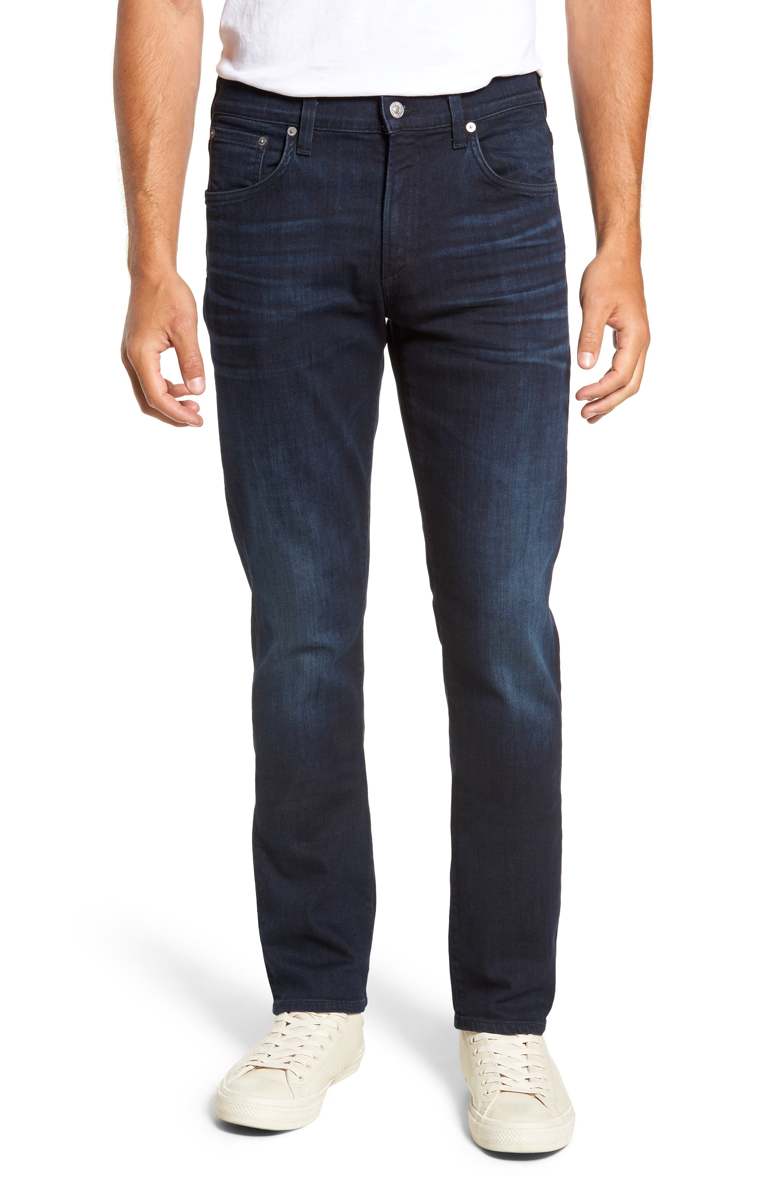 Gage Slim Straight Leg Jeans,                             Main thumbnail 1, color,                             409