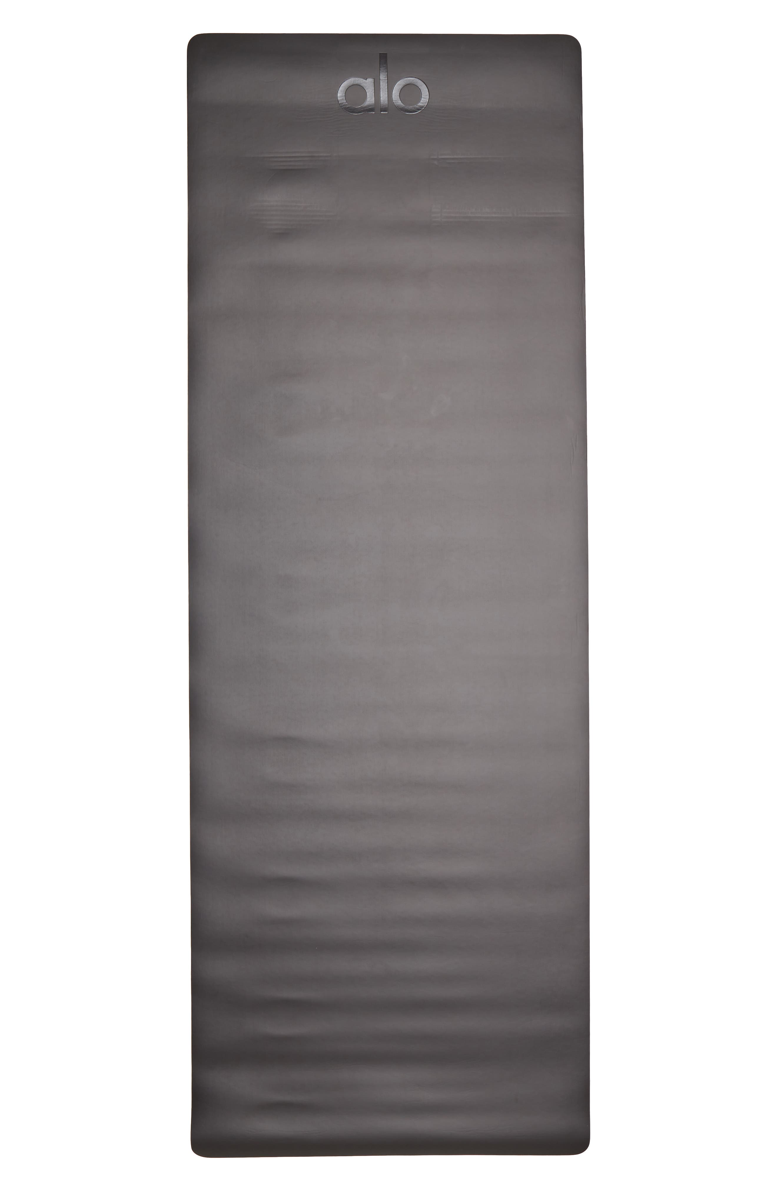 Warrior 2 Yoga Mat,                             Alternate thumbnail 2, color,                             BLACK