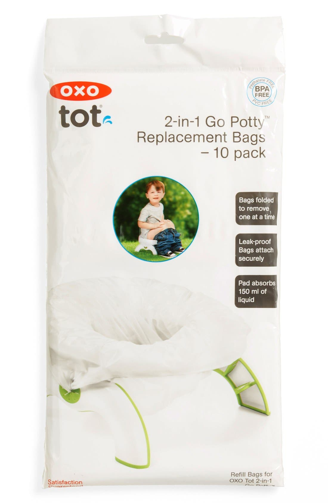 '2-in-1 Go Potty' Refill Bags,                         Main,                         color, 100