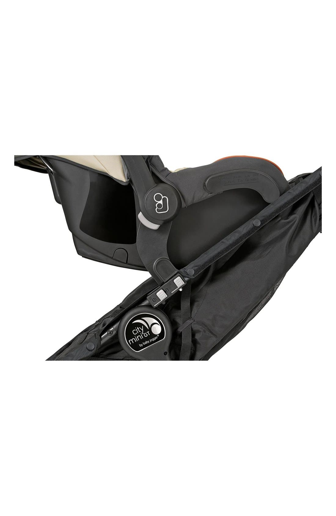 City Mini<sup>®</sup> Double/City Mini<sup>®</sup> GT Double Stroller to Cybex & Maxi-Cosi<sup>®</sup> Car Seat Adapter,                         Main,                         color, BLACK