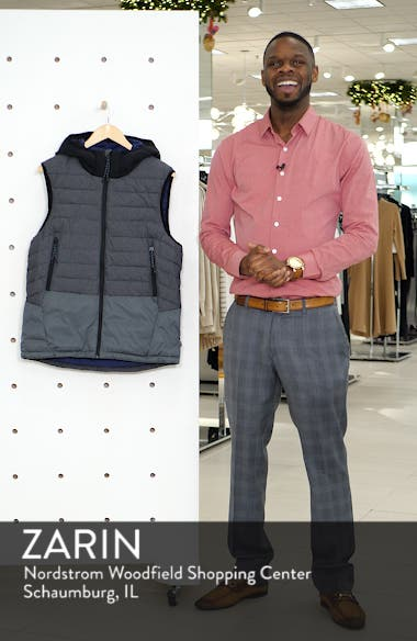 Quilted Hooded Vest, sales video thumbnail