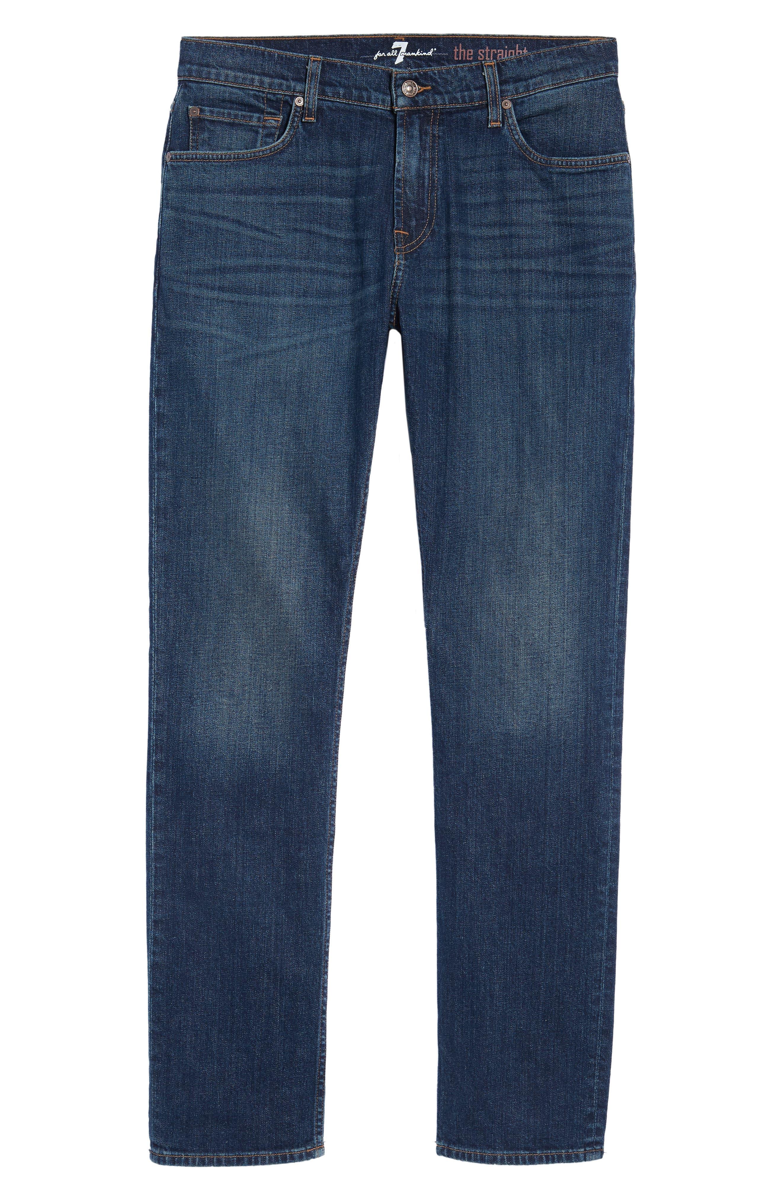 The Straight Slim Straight Leg Jeans,                             Alternate thumbnail 6, color,                             404