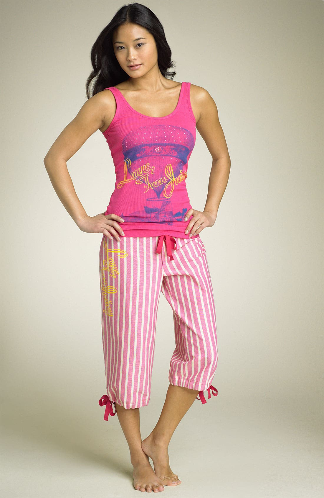 JUICY COUTURE 'Love from Juicy' Pajamas, Main, color, 660