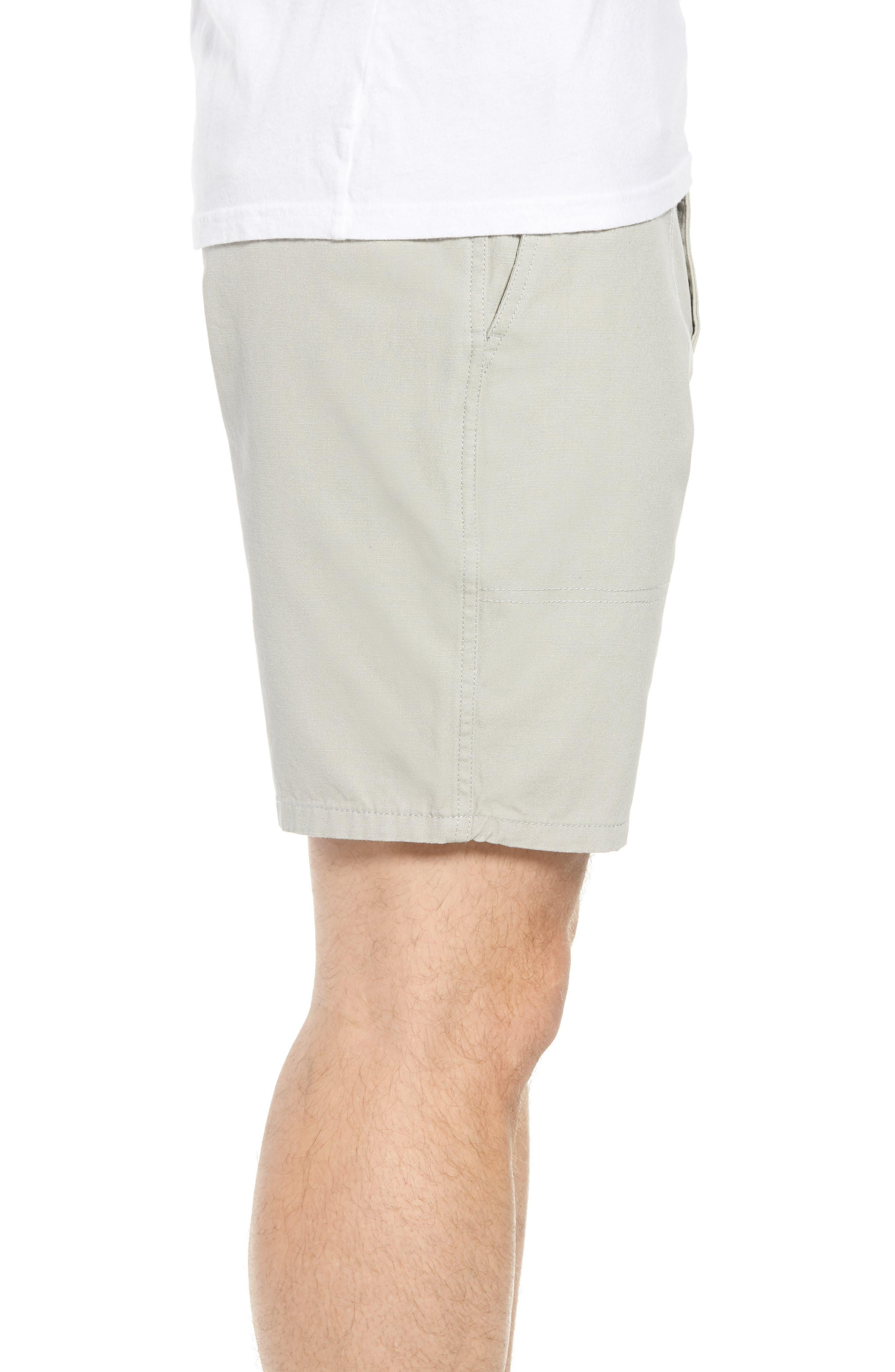 Collins Canvas Shorts,                             Alternate thumbnail 5, color,