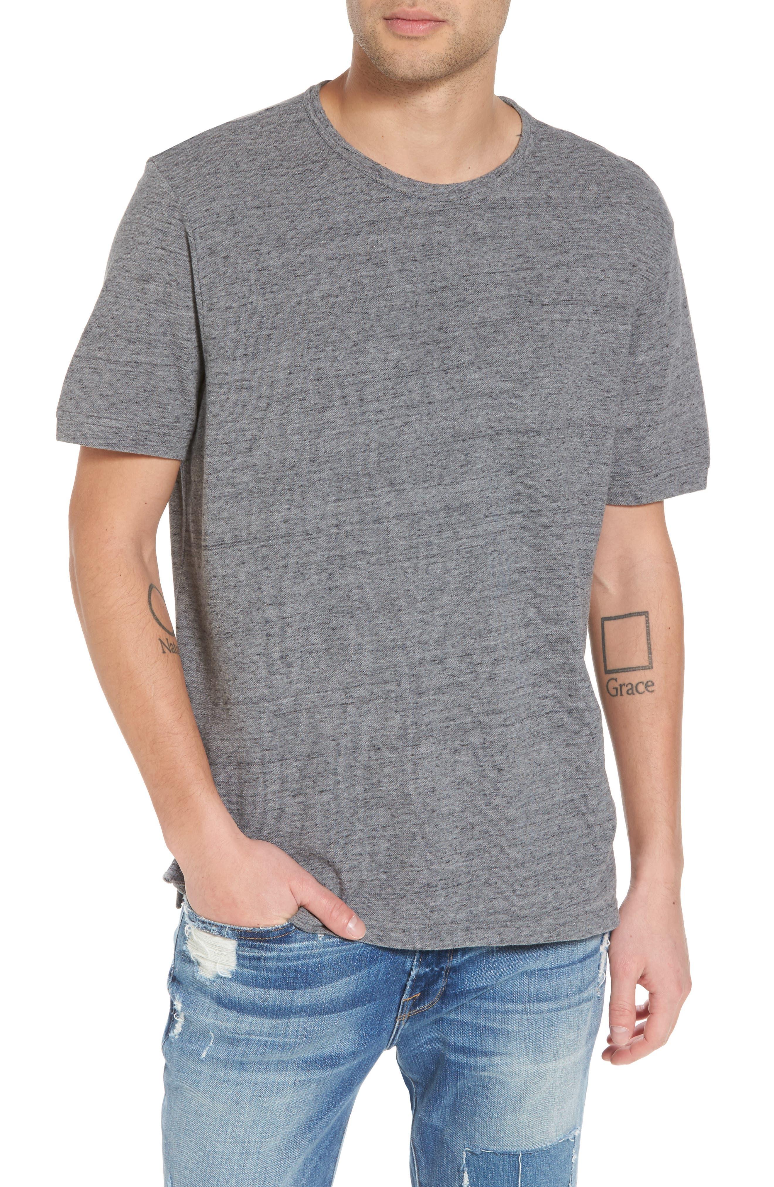 THE RAIL,                             Piqué T-Shirt,                             Main thumbnail 1, color,                             030