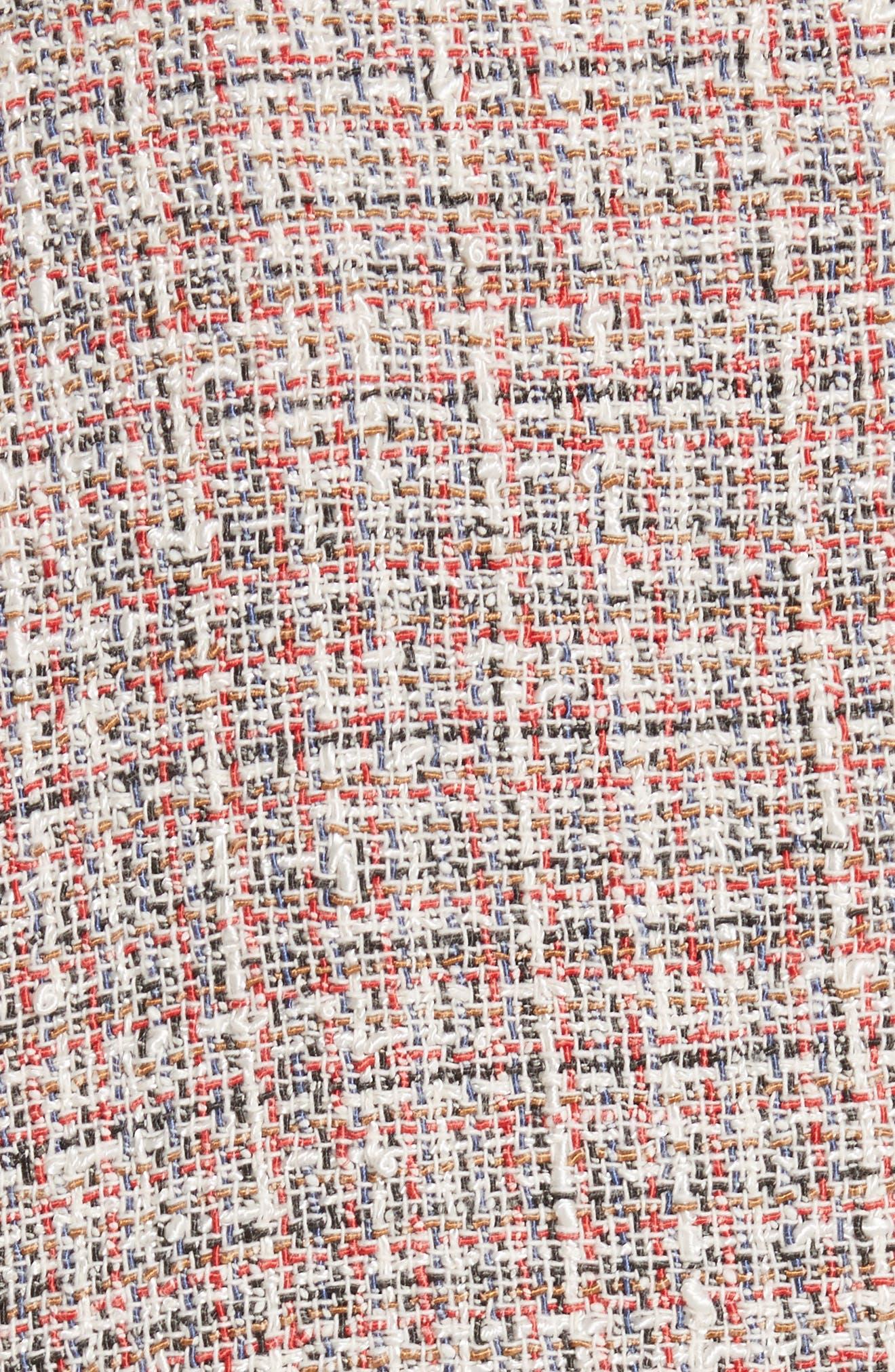 Walefa Tweed Jacket,                             Alternate thumbnail 6, color,                             651