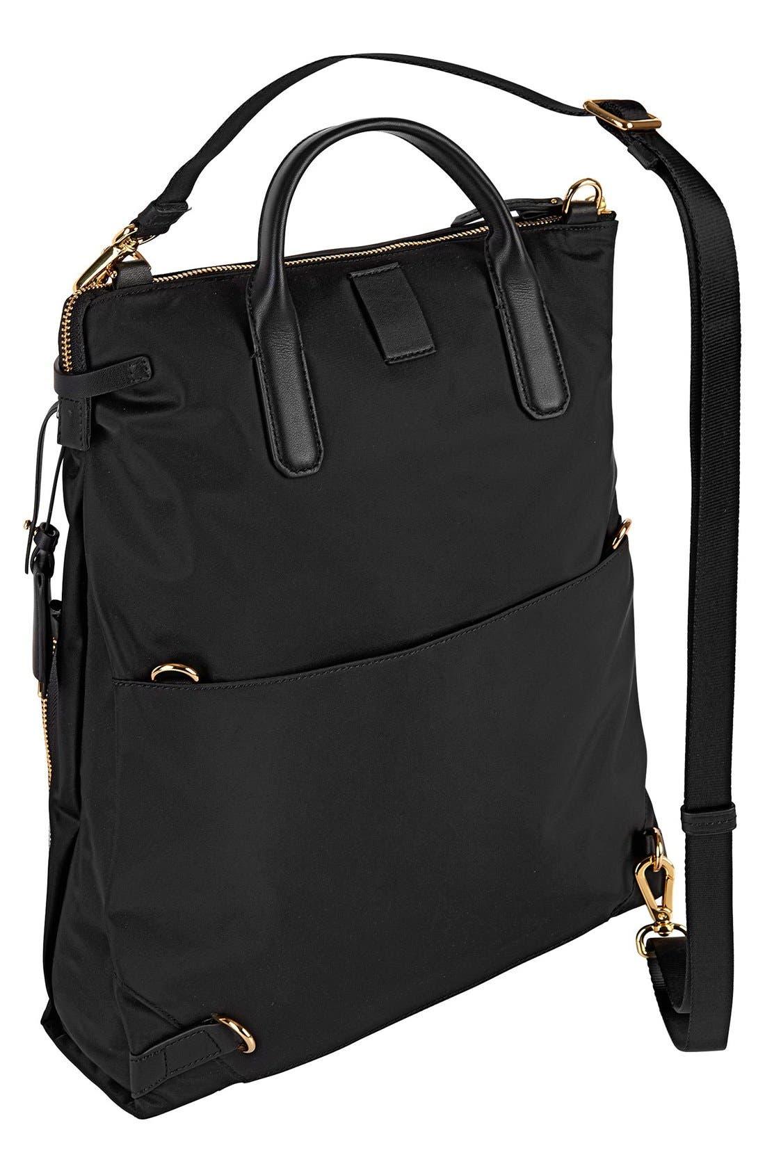 Voyageur - Jackie Convertible Crossbody Bag,                             Alternate thumbnail 3, color,                             001