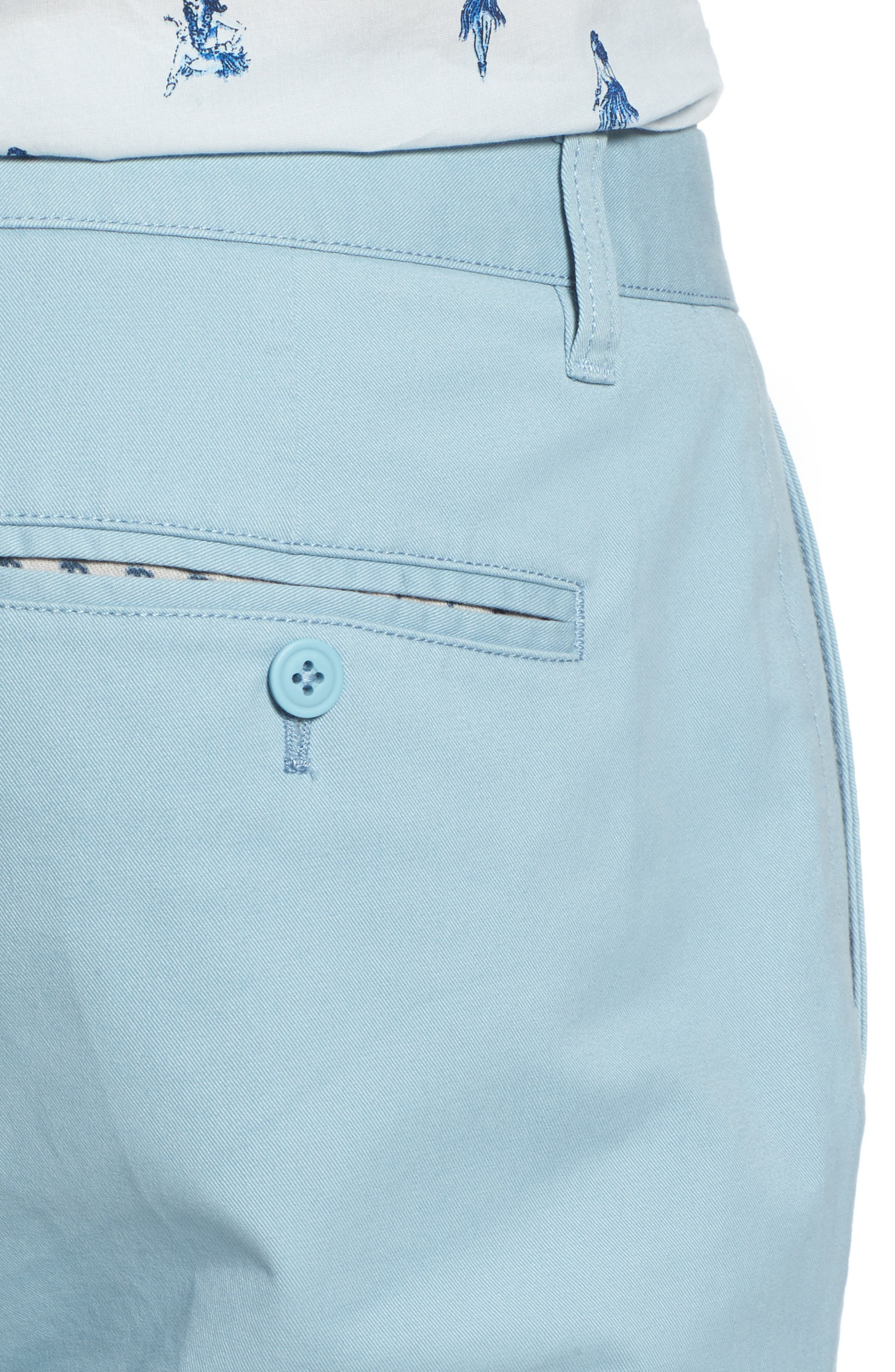 Tailored Fit Washed Stretch Cotton Chinos,                             Alternate thumbnail 120, color,
