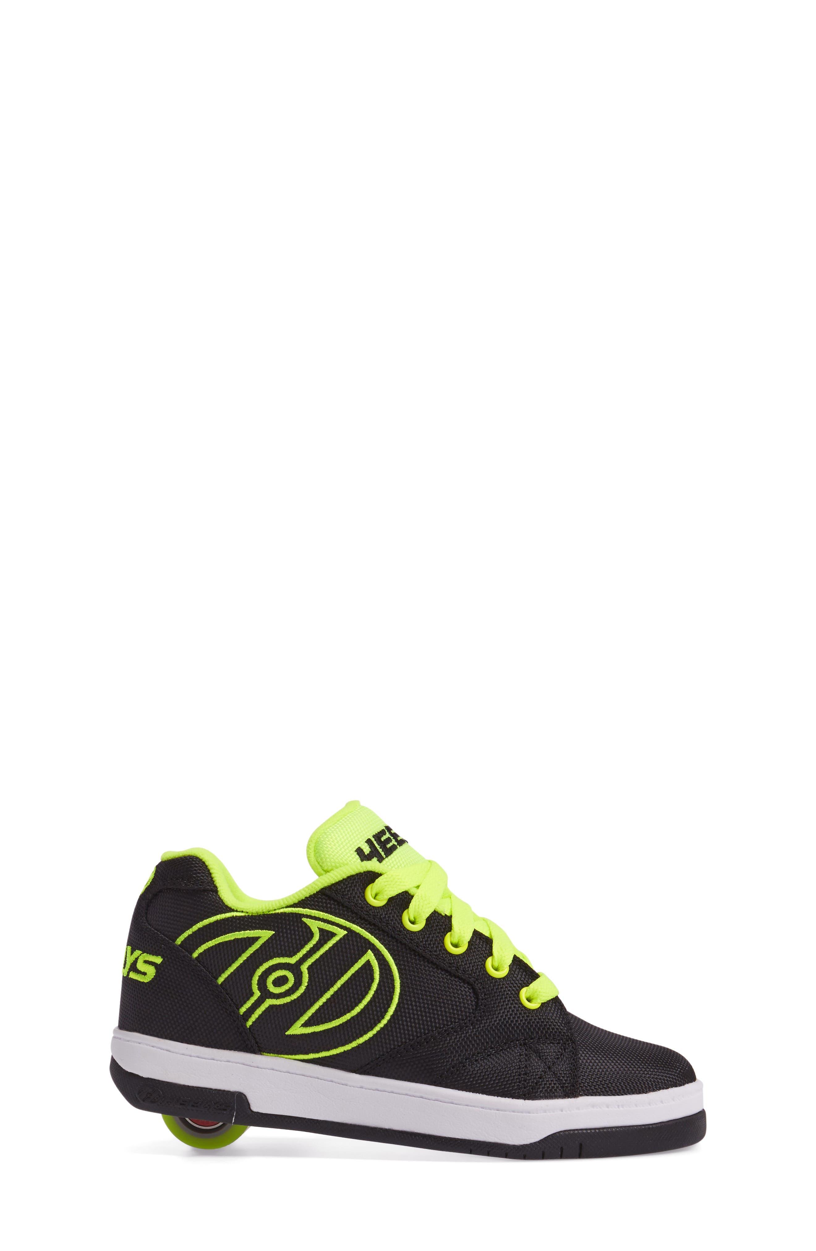 HEELYS,                             'Propel 2.0' Wheeled Sneaker,                             Alternate thumbnail 3, color,                             018