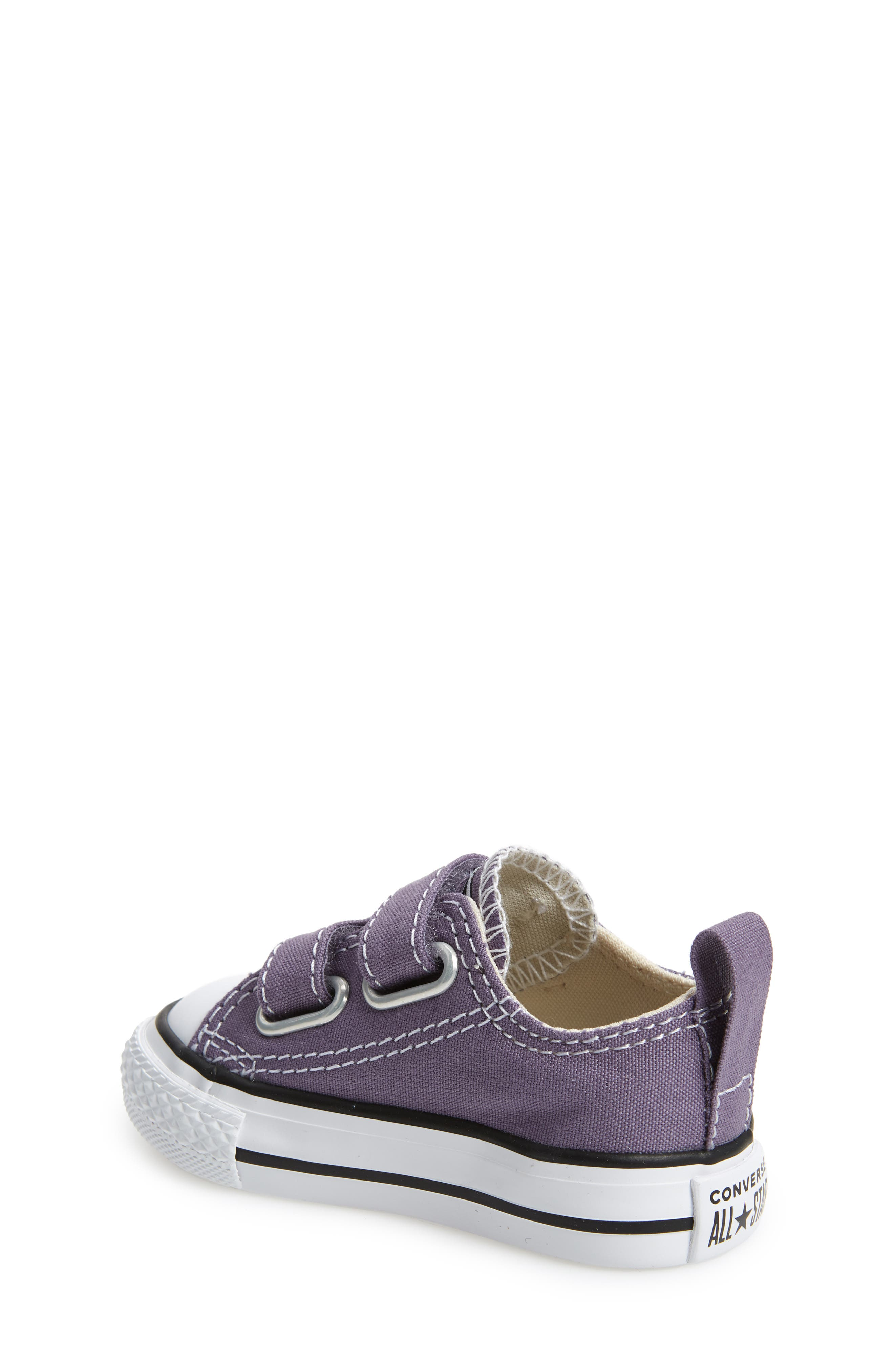 Chuck Taylor<sup>®</sup> 'Double Strap' Sneaker,                             Alternate thumbnail 2, color,                             MOODY PURPLE/ NATURAL IVORY