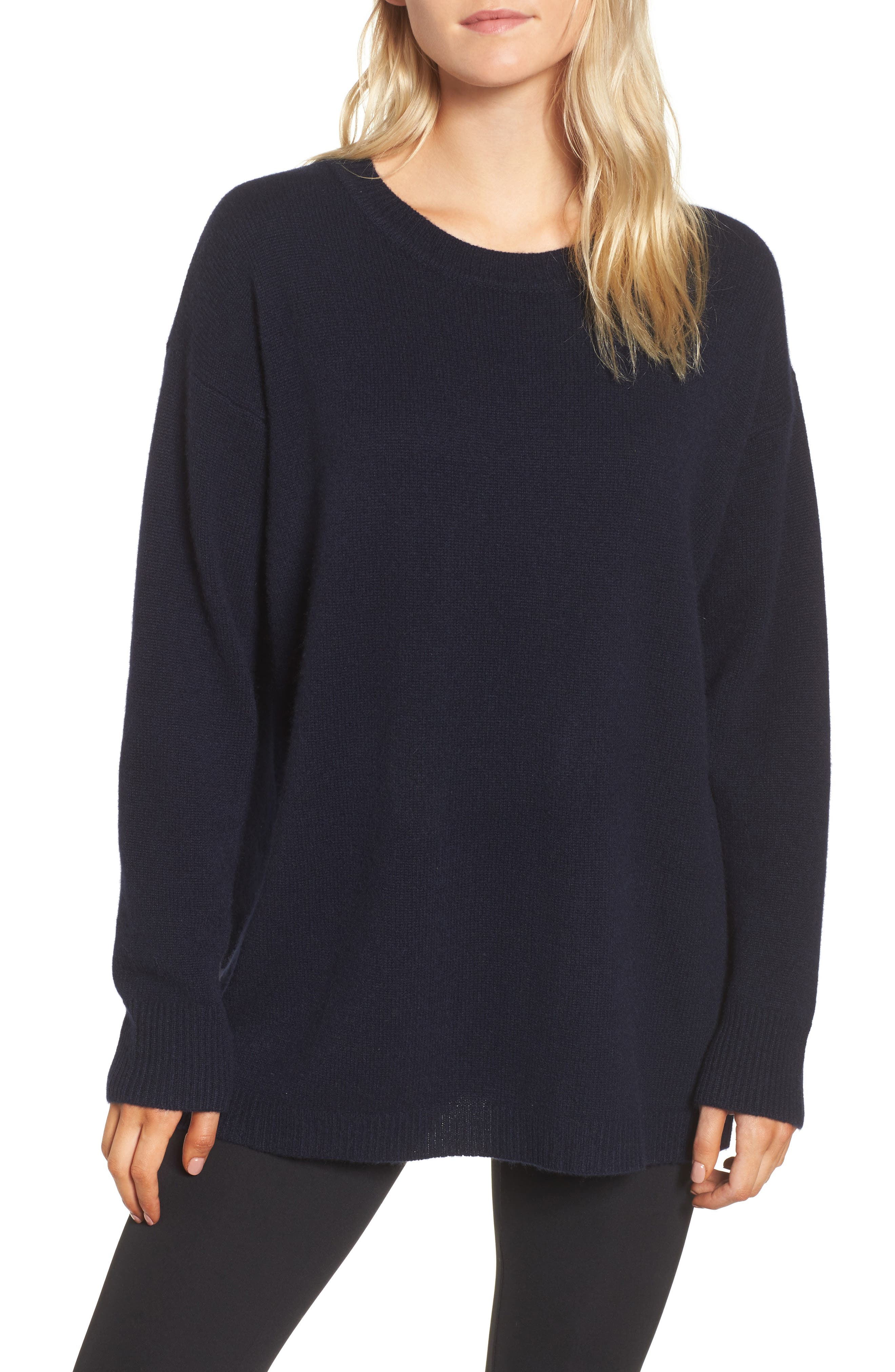 Oversize Cashmere Sweater,                             Main thumbnail 1, color,                             415
