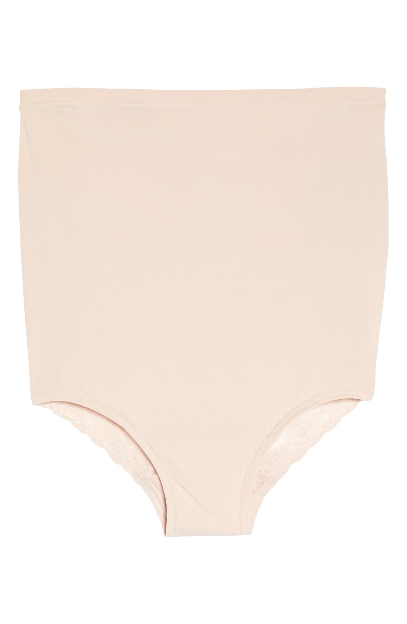 Bliss Maternity Briefs,                             Alternate thumbnail 4, color,                             CAMEO ROSE