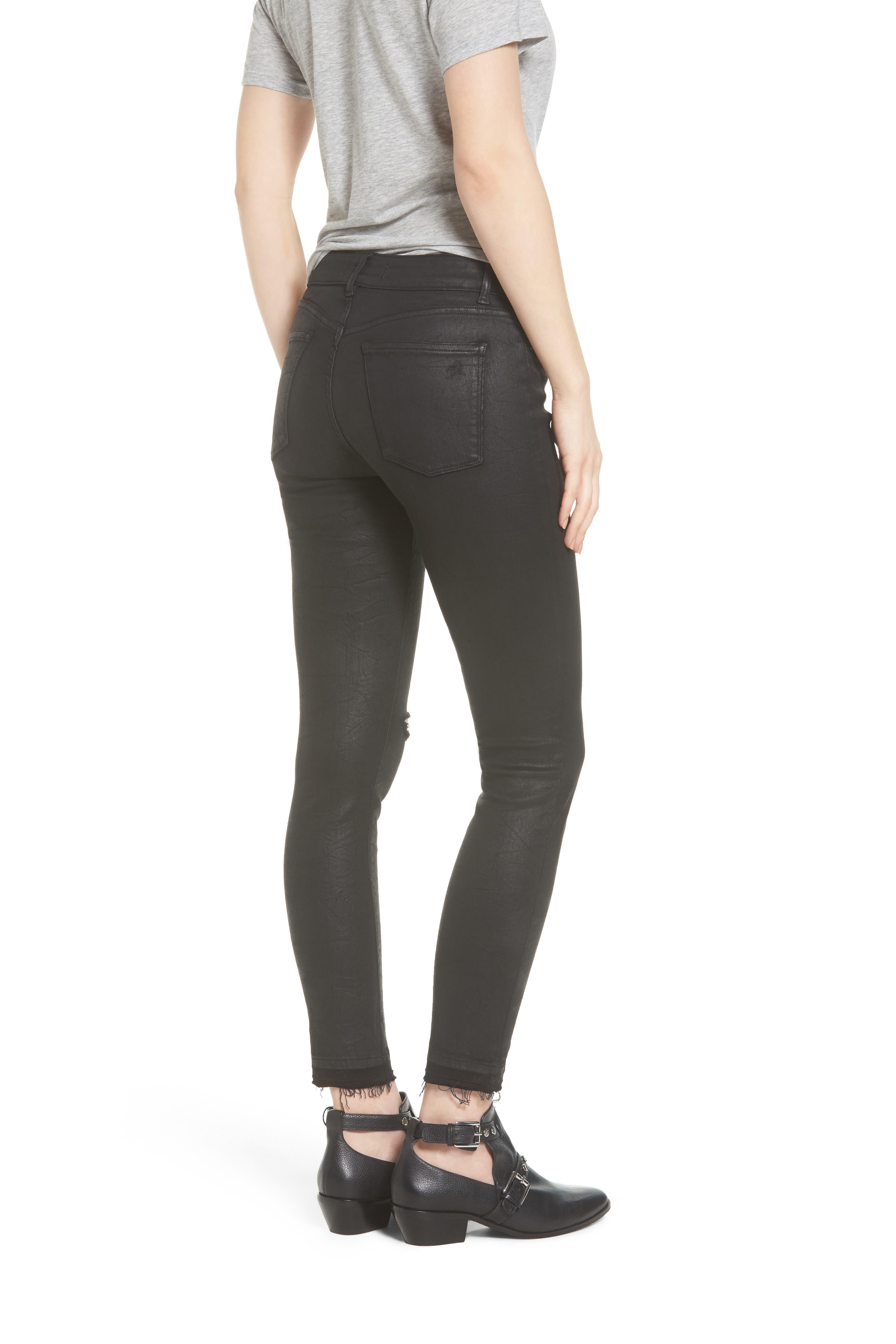 Margaux Instasculpt Ankle Skinny Jeans,                             Alternate thumbnail 2, color,                             001
