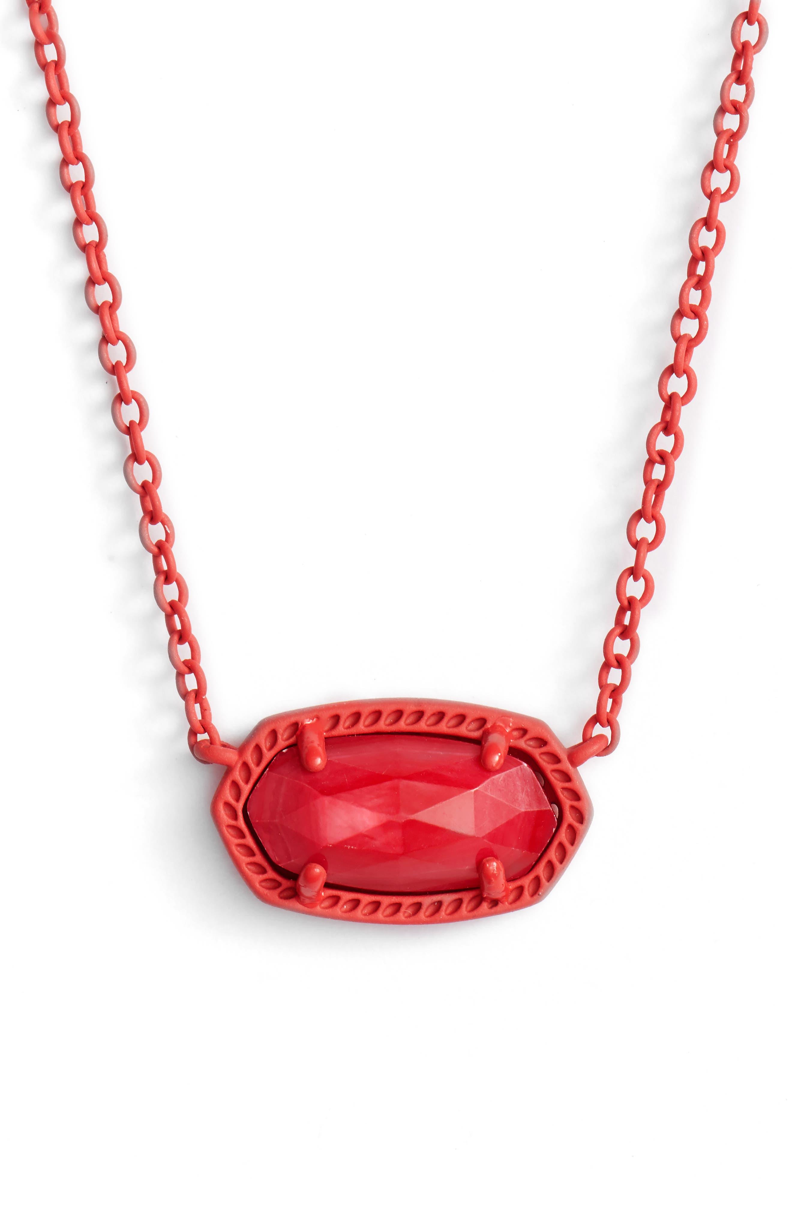 'Elisa' Pendant Necklace,                             Alternate thumbnail 110, color,