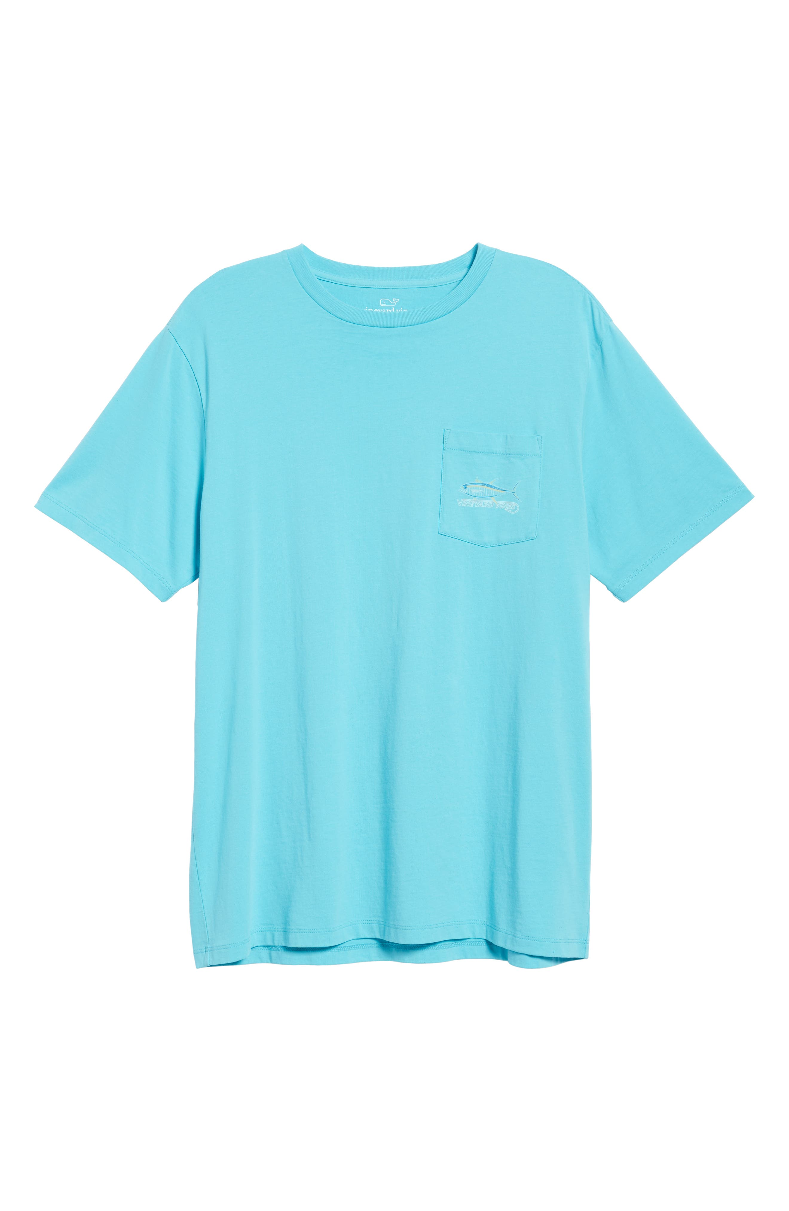 Tuna Hook Regular Fit Crewneck T-Shirt,                             Alternate thumbnail 6, color,