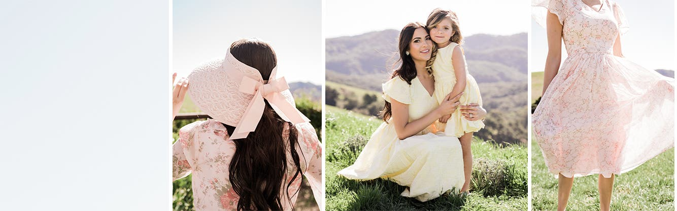 Sweetest for spring from Rachel Parcell.