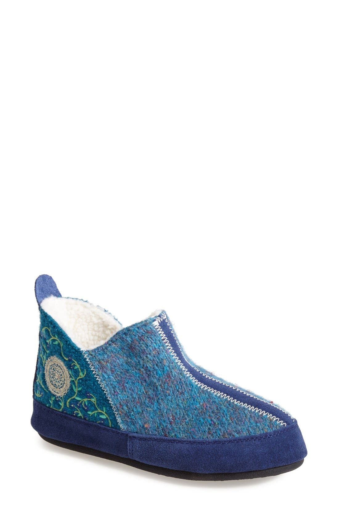 'Forest' Bootie Slipper,                             Main thumbnail 3, color,